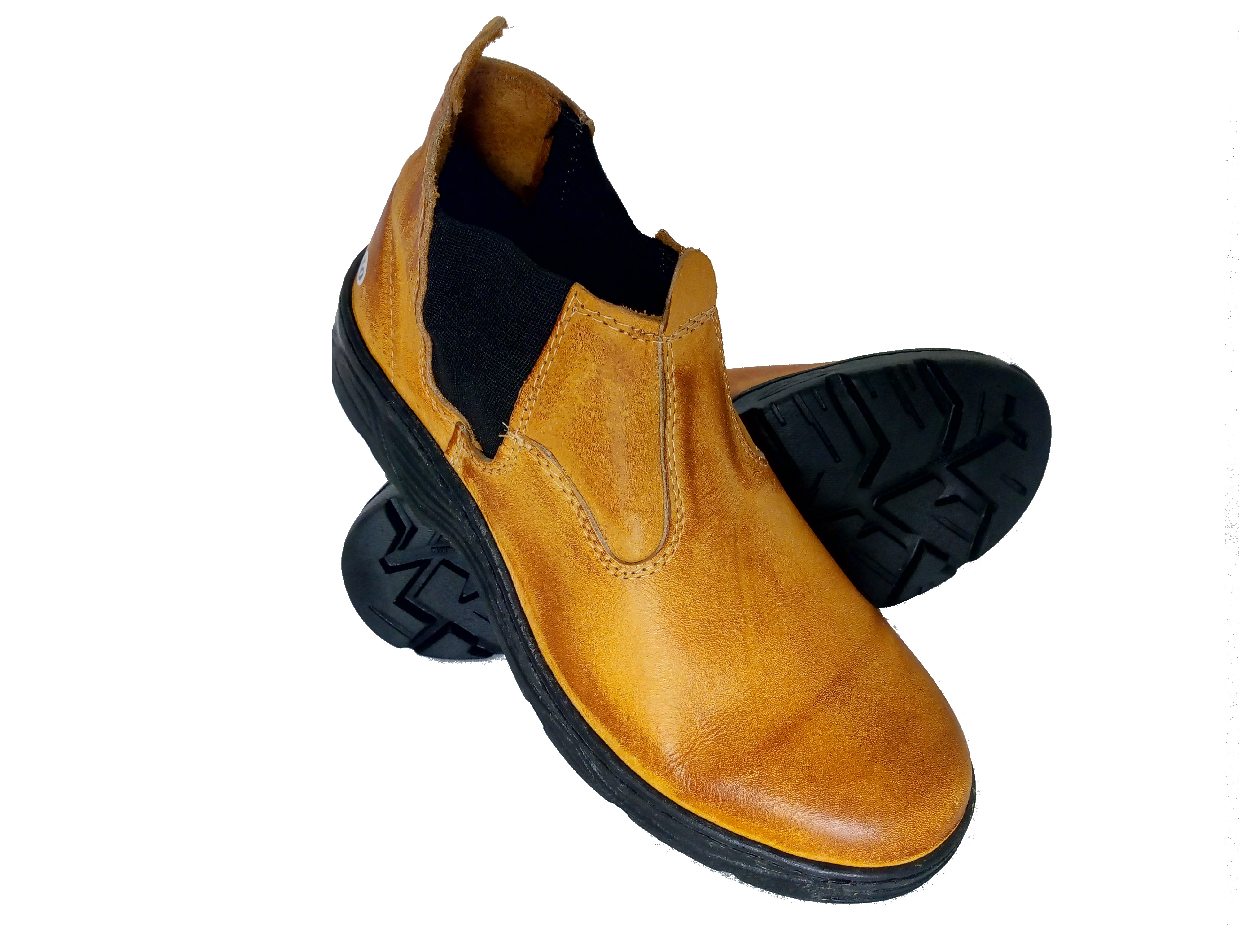 Botina Bota Segurança Trabalho Couro Latego Preto no Elo7   Calçados Correa  (DFA304) 8b4d1f4970