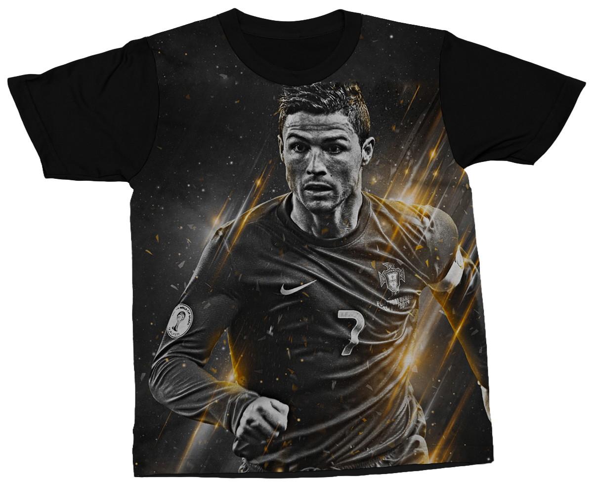 8a0f3ff61a Camiseta Cristiano Ronaldo Jogador Futebol Camisa Estampada