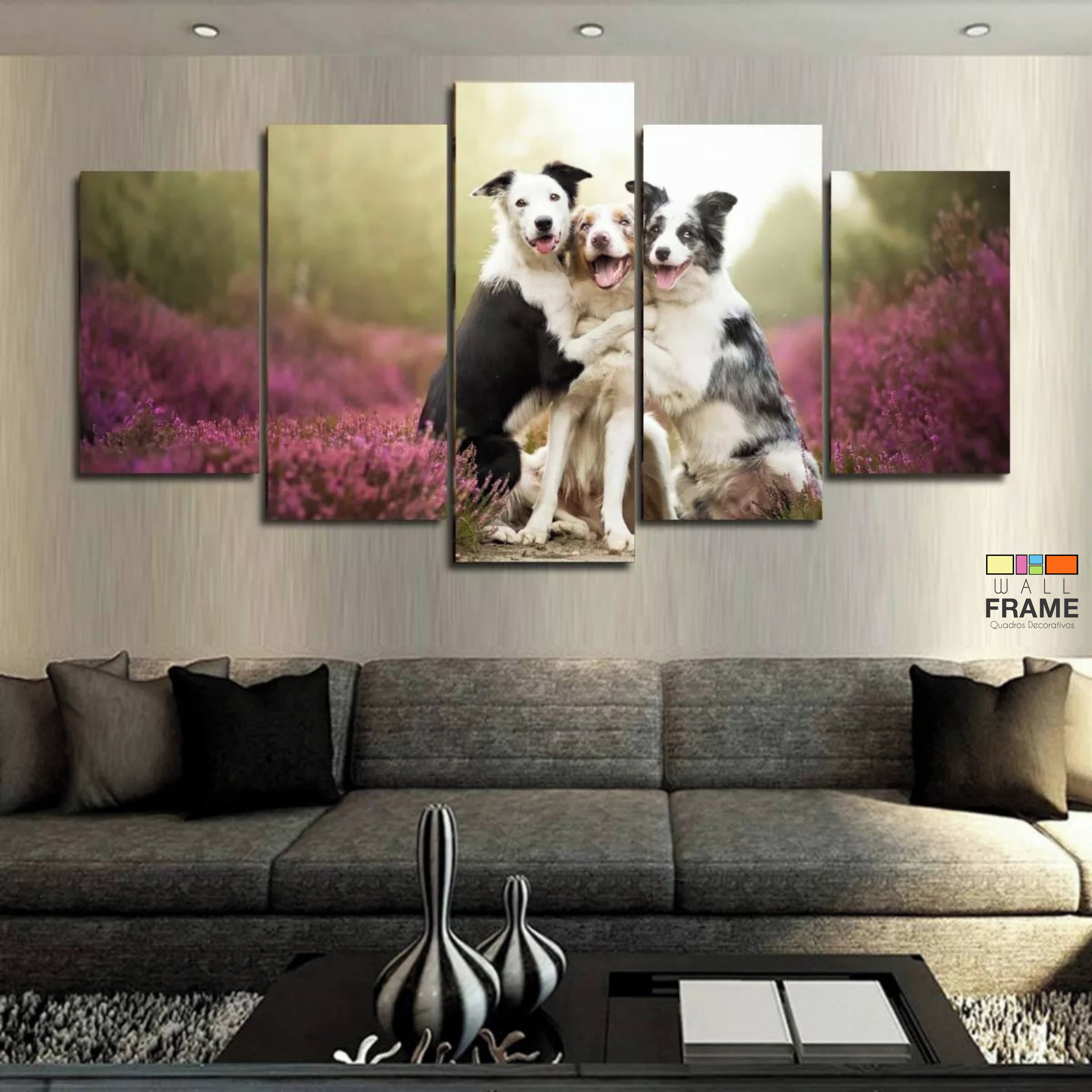 Quadro Gato Decoracao Salas Interiores Pet Shop Decorar   Elo7 2297a80f35