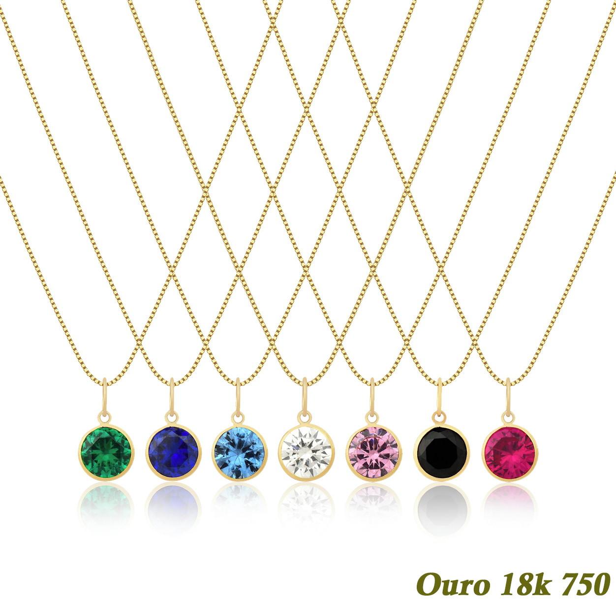 Corrente Veneziana Ouro 18k 750 45cm + Ponto De Luz no Elo7   Dream Factory  Joais (C371E1) c188f03201