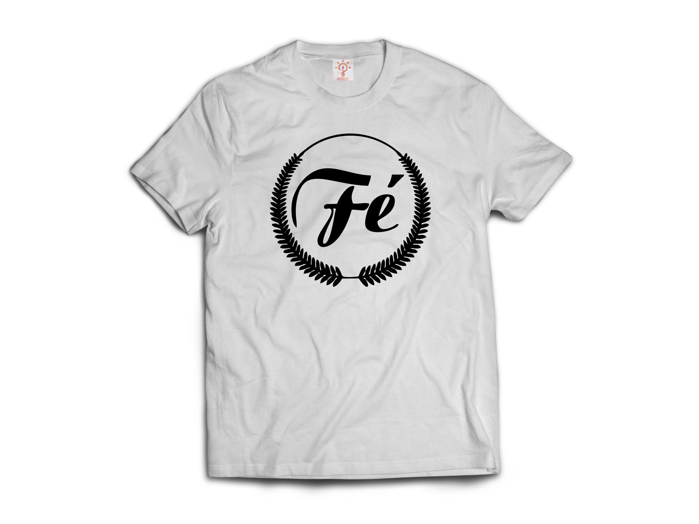 2022f79a58d92 Camiseta Personalizada Fé