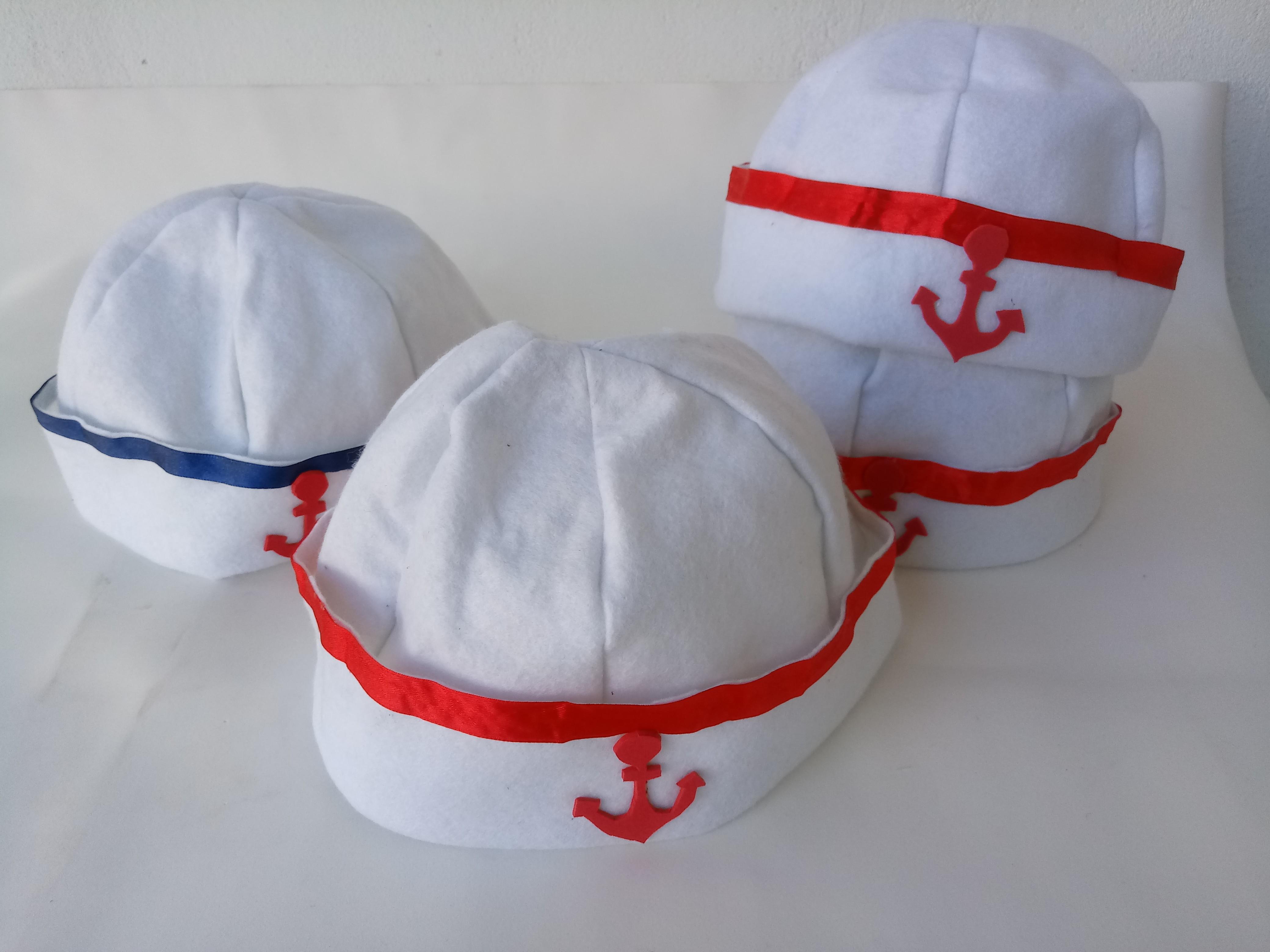 557bf28a6a7e3 Boina marinheiro unidade no Elo7