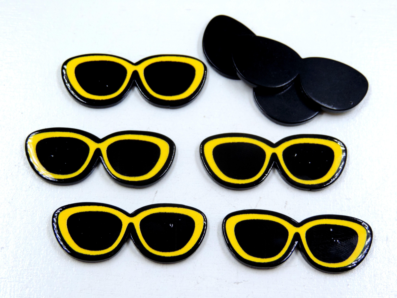 ee00a86c3804e Botton 3 5 Oculos 3d   Elo7