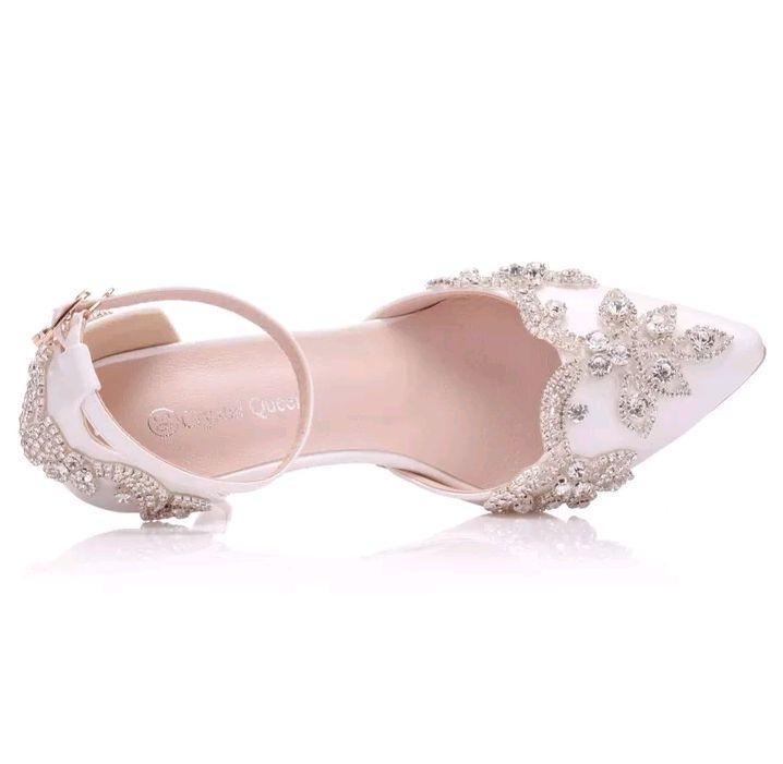 8d5fe0b80 Sapato de Noiva guipir personalizado no Elo7 | Cantinho Príncipe e Princesa  (E0795D)