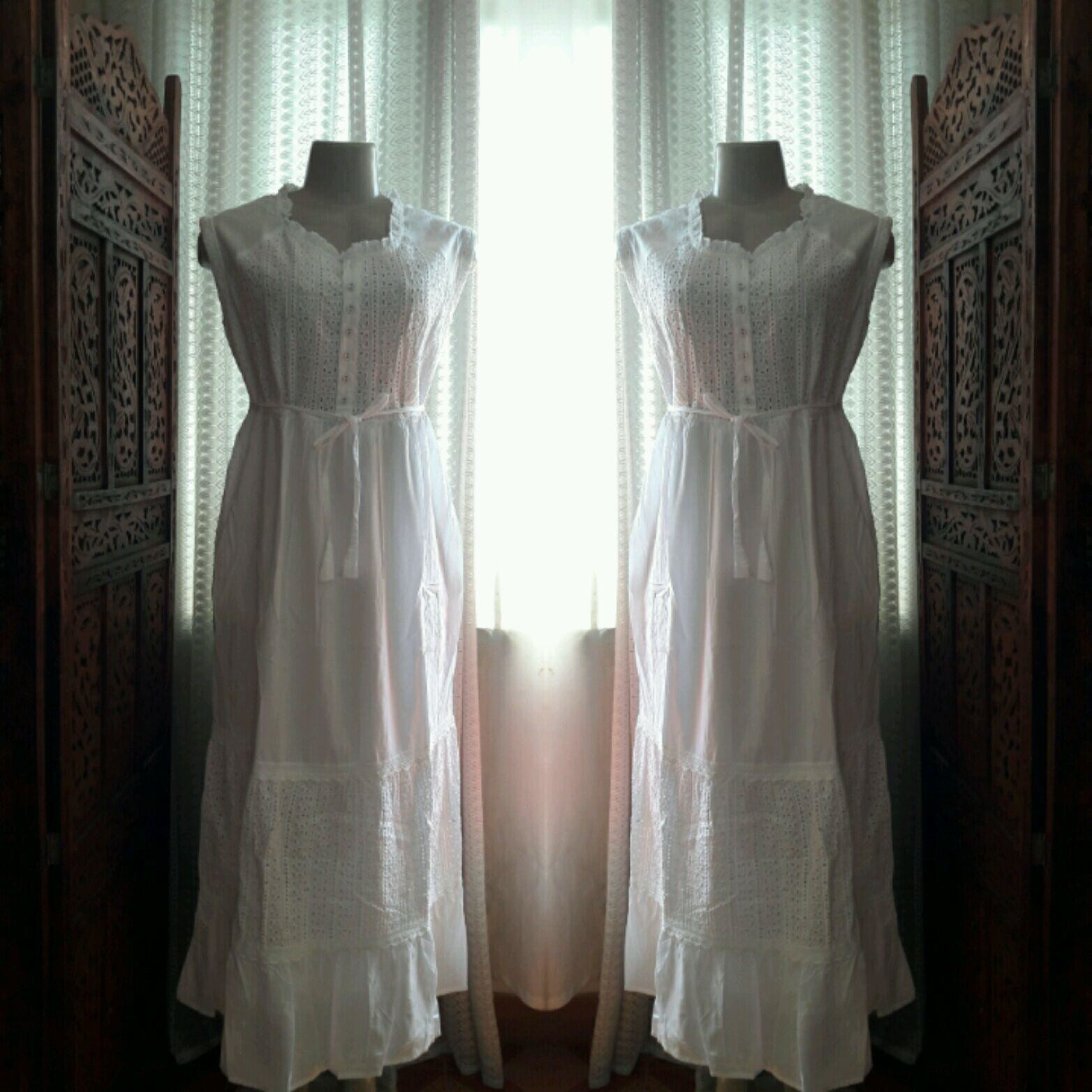af1470d0ab52 vestido branco longo algodão laise renda grupir festa no Elo7 | Belíssima  Moda Criativa Bordados e Rendas - Ateliêr Artesanal (DFA82F)