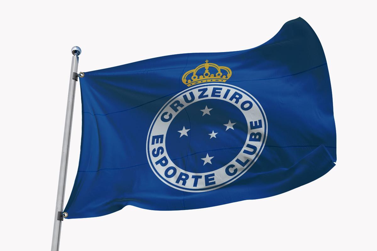 eb535abd2f Bandeira Azul e Amarela   Elo7