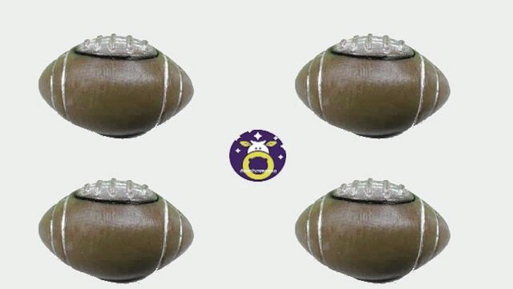892e18536a Lembrancinha gesso esporte bola futebol americano no Elo7 ...