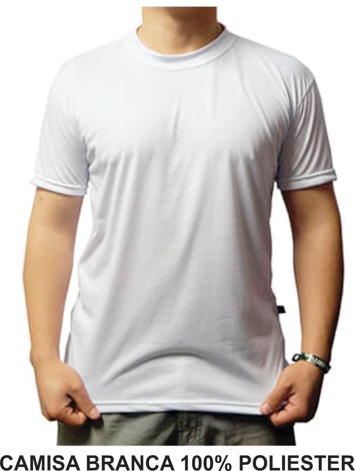 Camisetas 100 Poliester 10 Pecas  81e6e146265