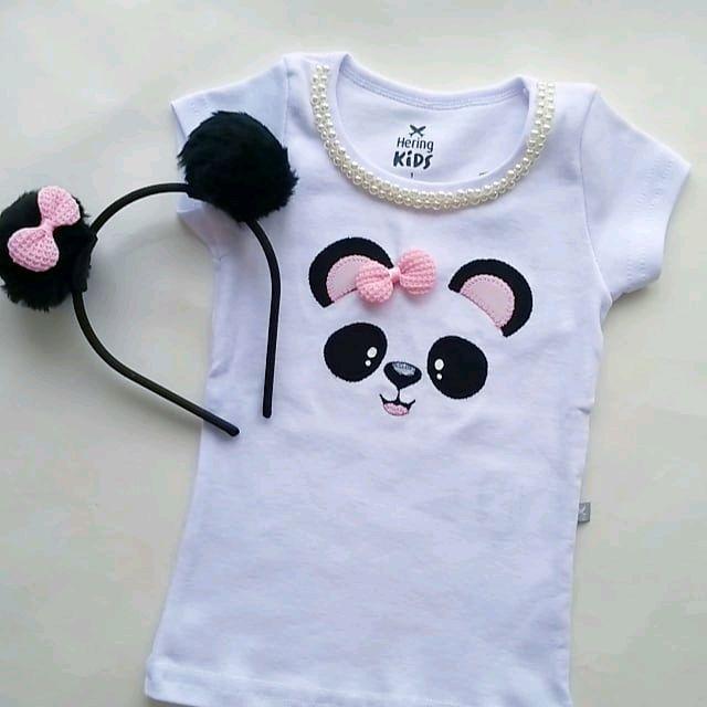 Blusa Baby Loock Infantil  abd2803b5be5d