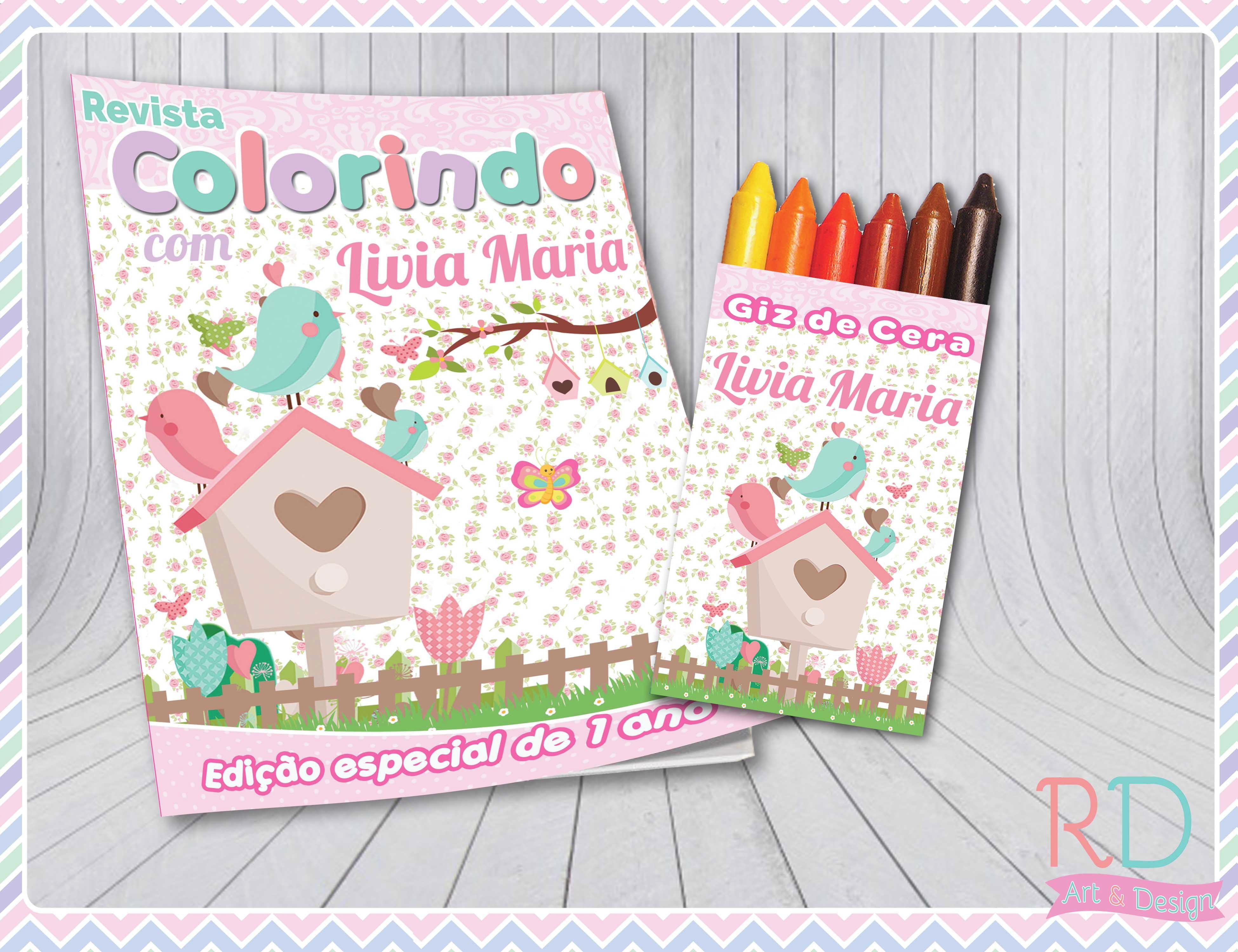 Kit Colorir Jardim Encantado No Elo7 Rd Art Design D49844