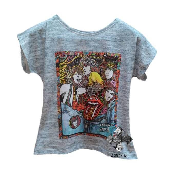 8ea3ecc8f2 Atacado 5 t-shirts Blusas Femininas variadas no Elo7