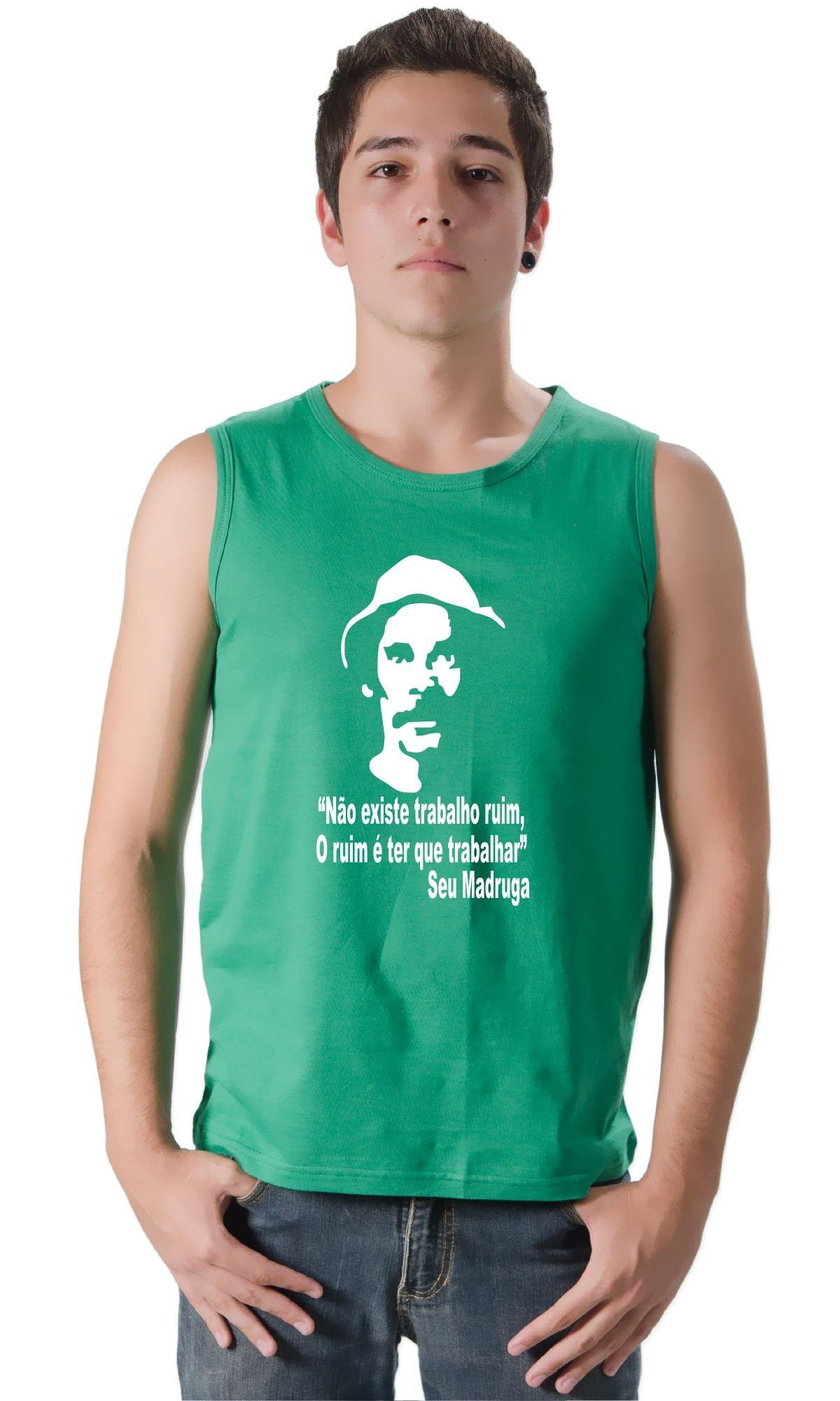 Camiseta Regata Machão  e0bb63e5b25