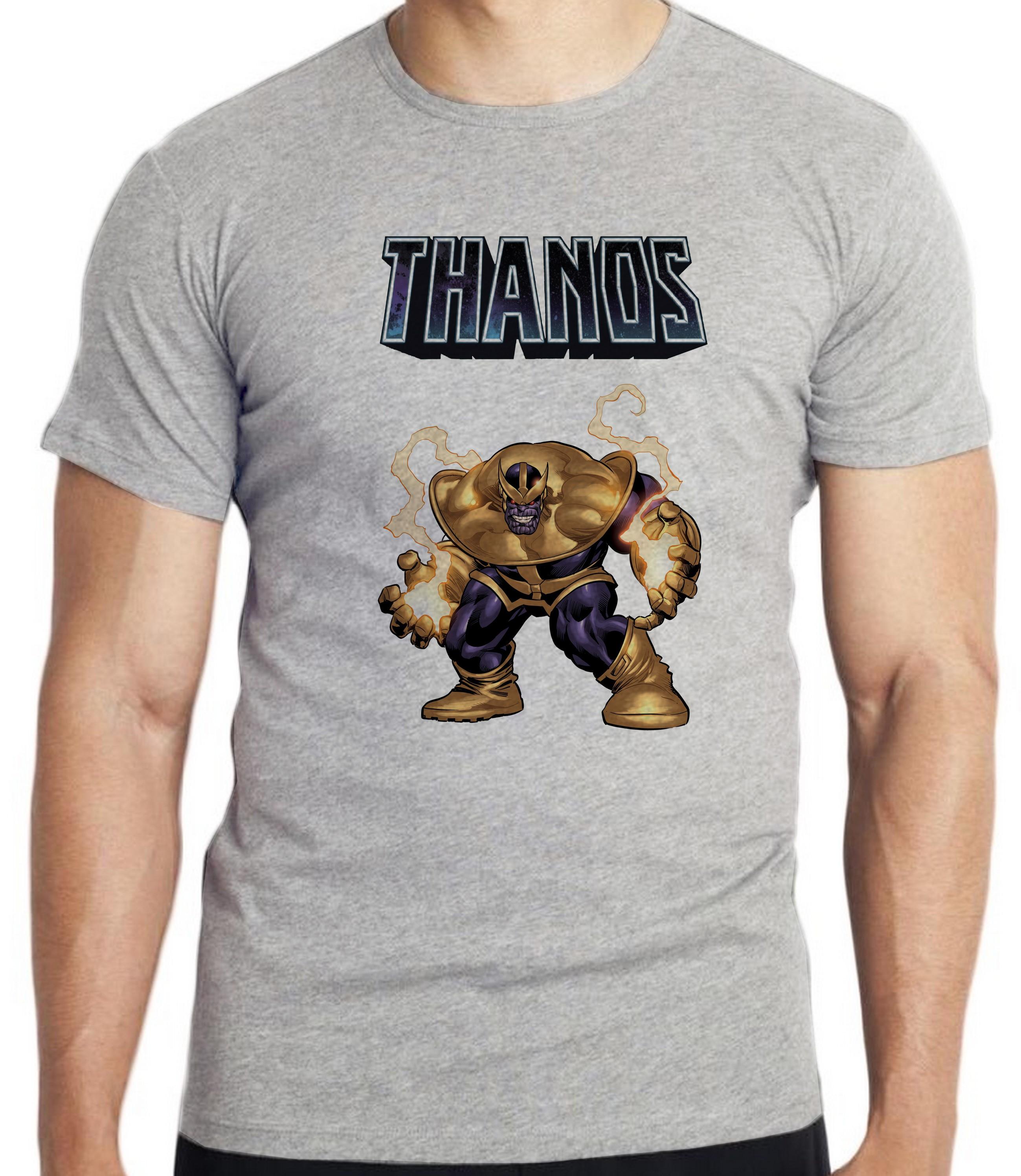 628e5882a7 Camiseta Blusa Thanos Marvel Vingadores Avengers