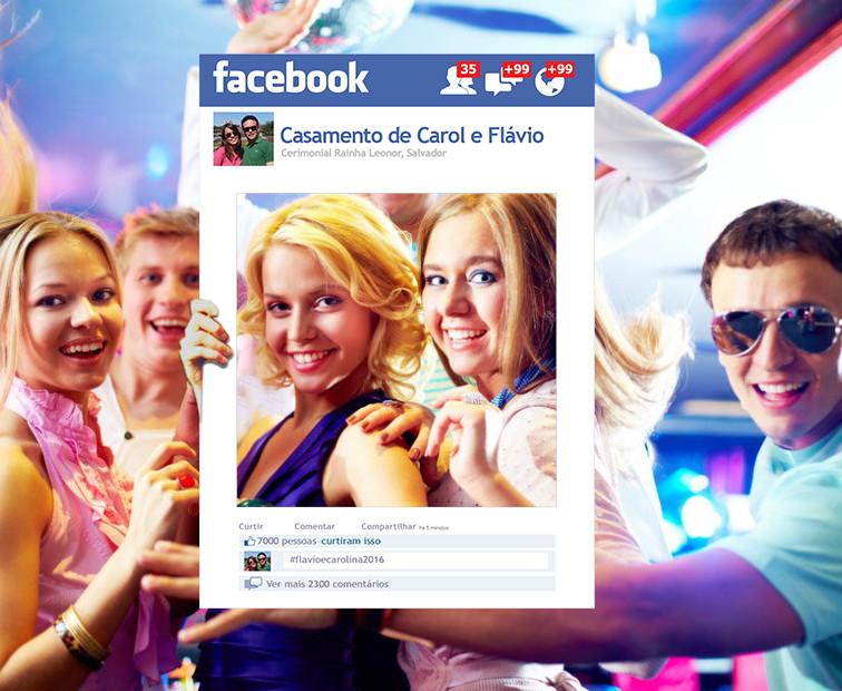 Placas Facebook | Elo7