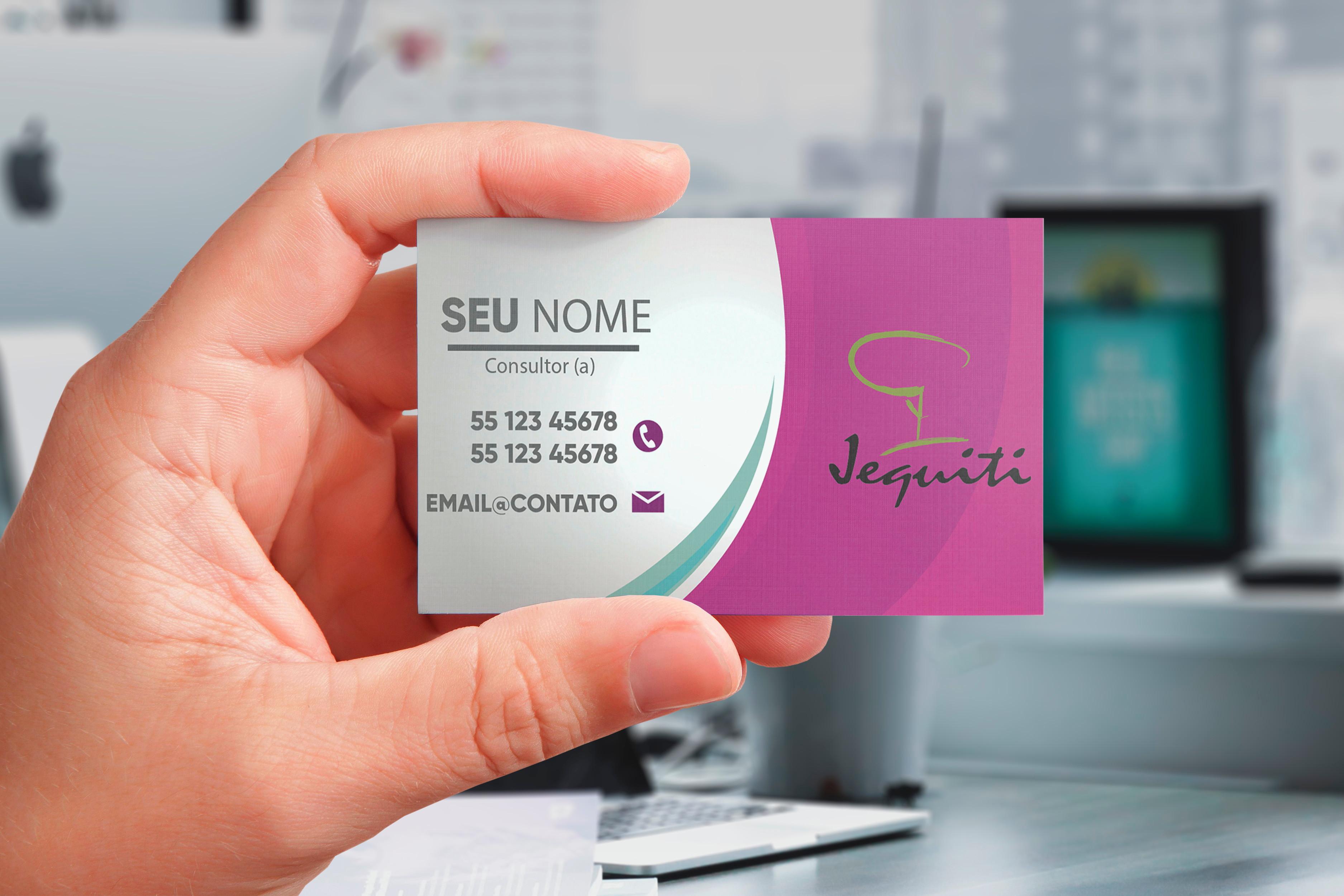 62290b8ef Cartão de Visita Personalizado JEQUITI 1000 unid. no Elo7 | Ana Lopes  Designer (E13DB4)