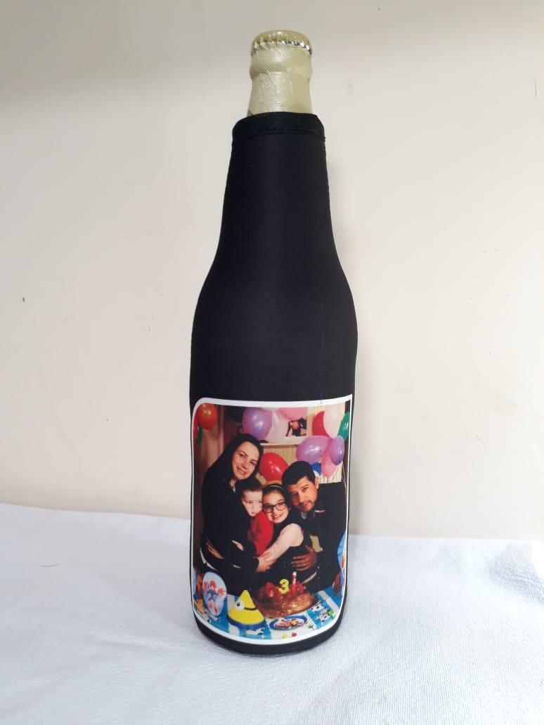 7112e1c620 Capa garrafa de cerveja 600ml neoprene personalizada termica no Elo7 ...