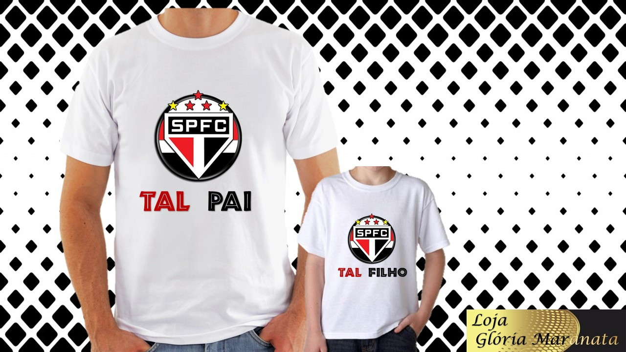 4f83ac3cfe52c Body Personalizado Kit 2 Pecas Tal Pai Tal Filho