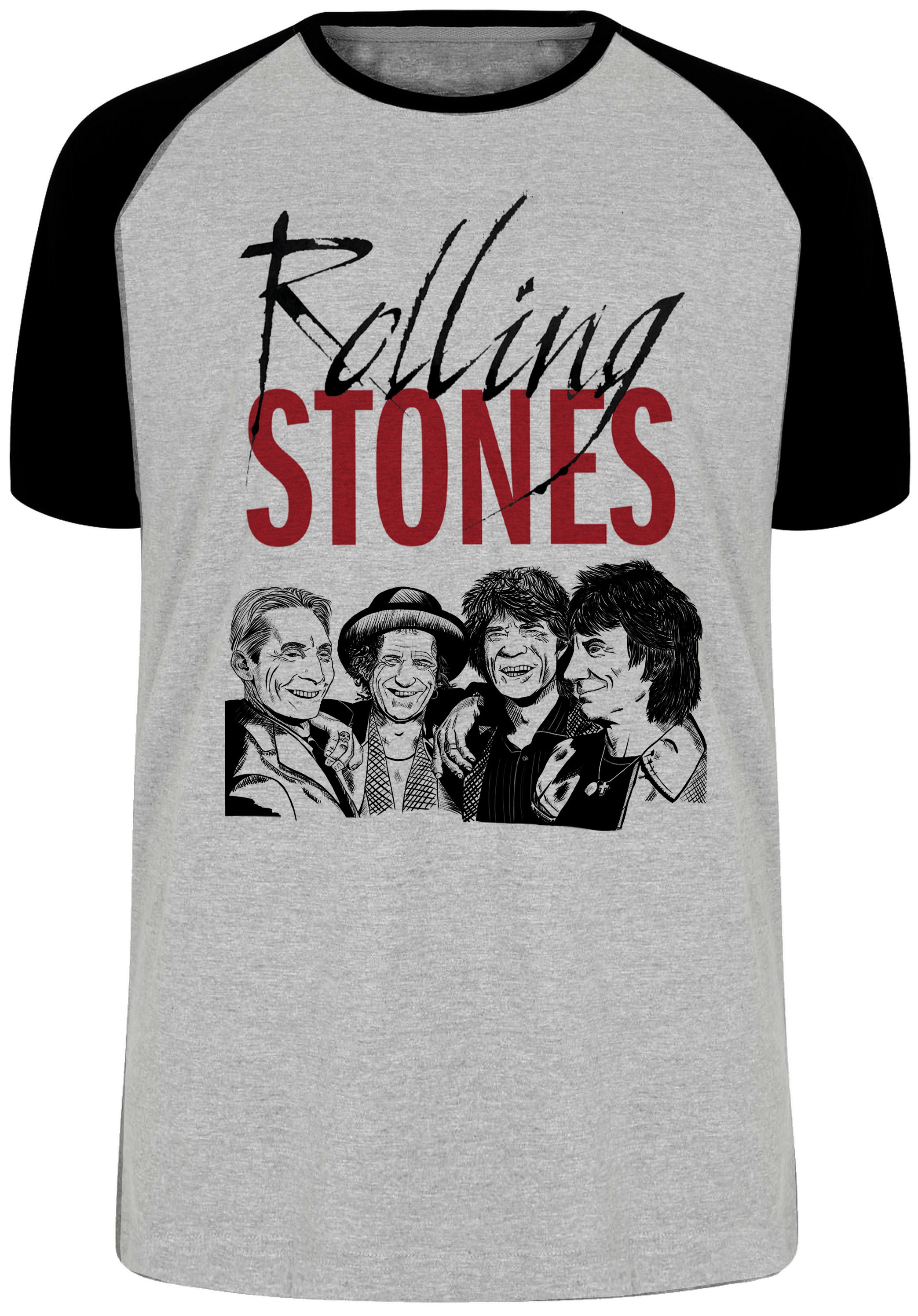 916e50e491 camiseta blusa rolling stone banda rock mick jagger no Elo7 ...