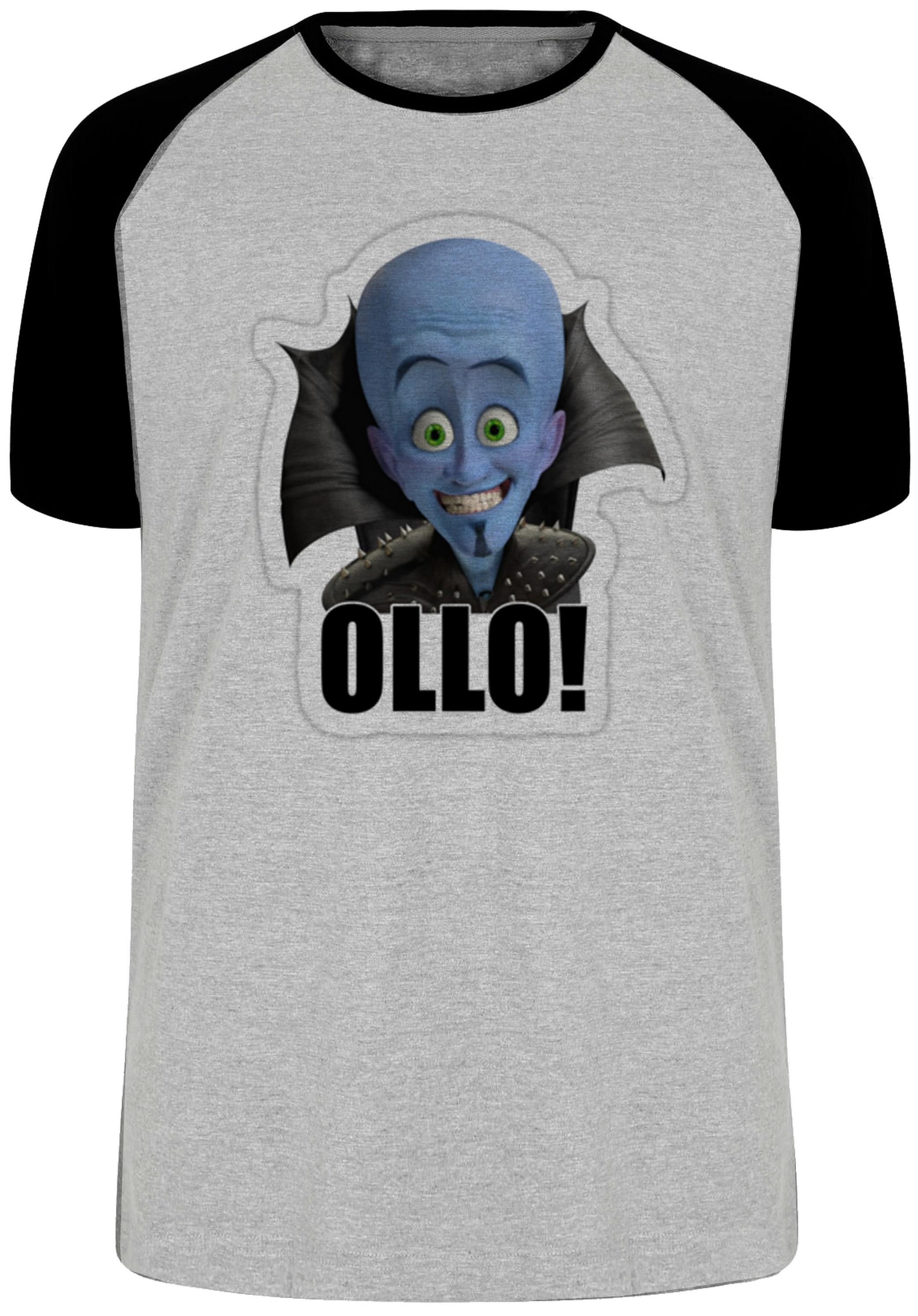58d2b3e372 camiseta blusa megamente super herói azul no Elo7