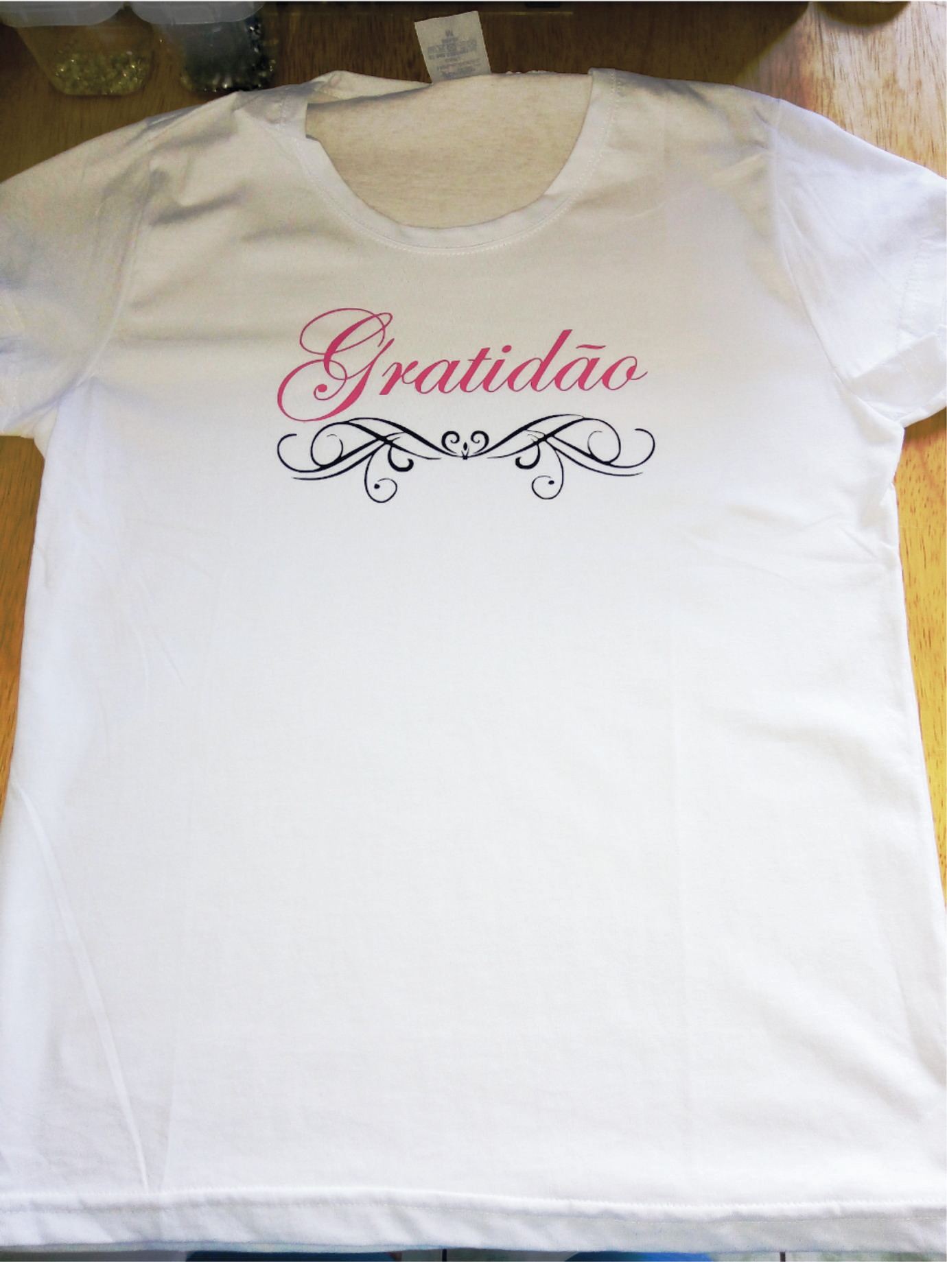 c040ef378 Camiseta feminina gratidão frases moda no Elo7