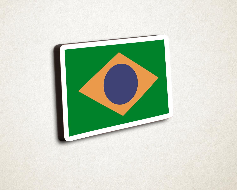 Aplique Adesivo Tag com Texto Bandeira Brasil  aaa14ccd72ec5