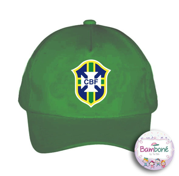 b317672f74 Bone Infantil Selecao Brasileira