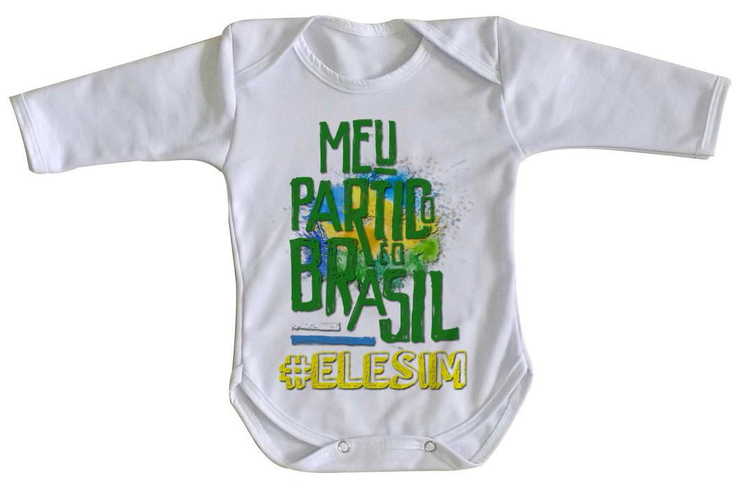 4b22d70721 Body Bebe Ou Camiseta Infantil Tal Filha Selecao Brasileira