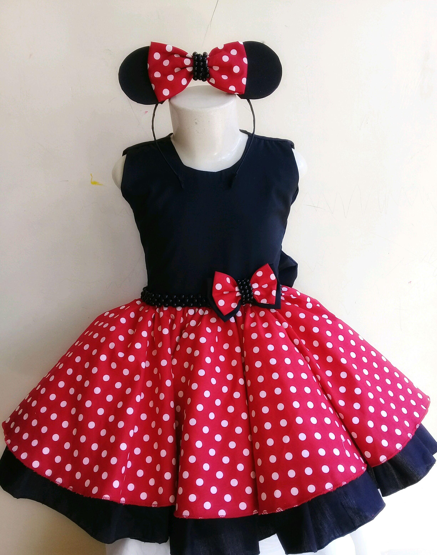 Vestido Minnie Vermelha 1 2 Anos No Elo7 Belezinha Roupas E