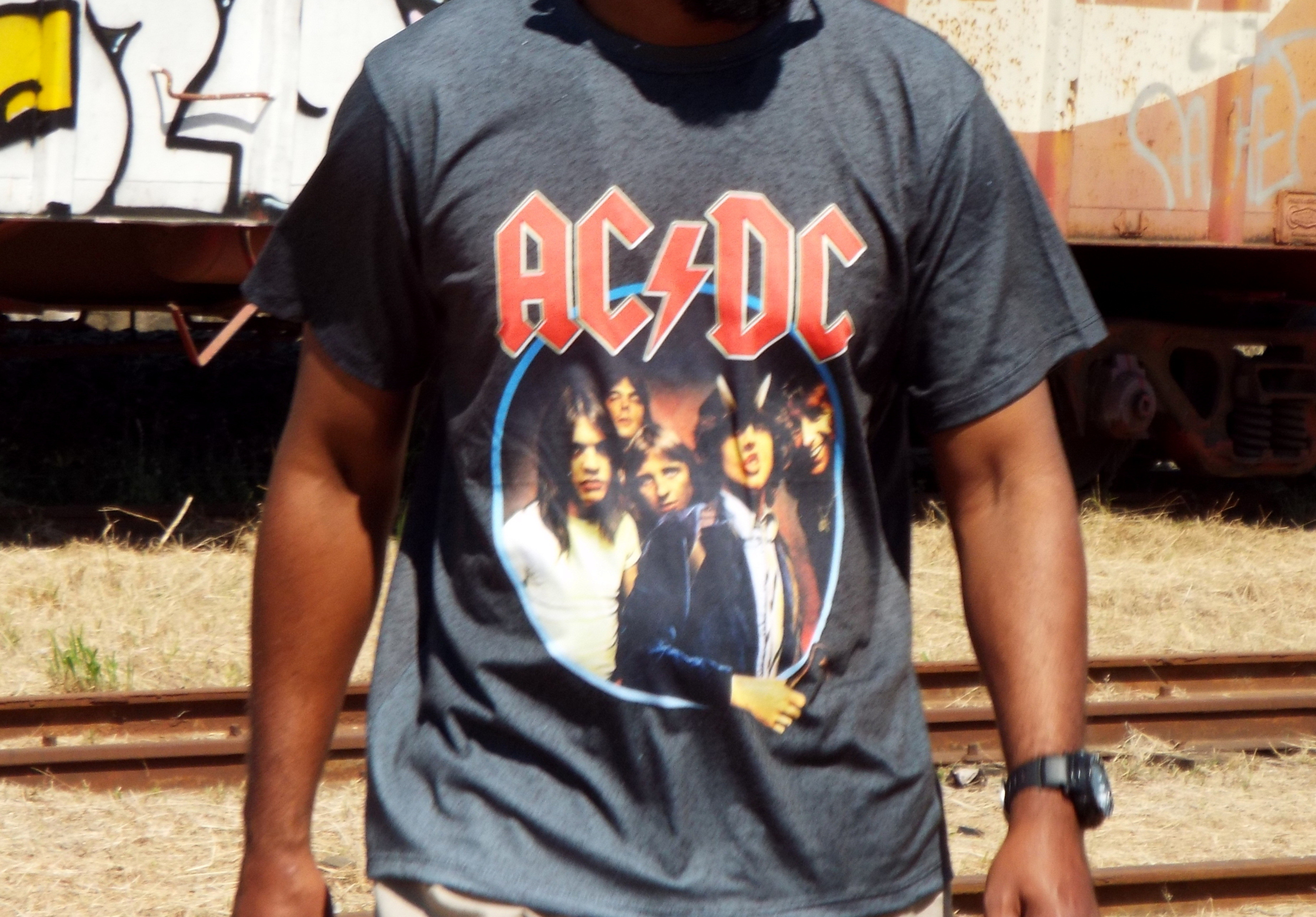 Tshirt Camiseta banda rock AC DC - G no Elo7  ad379cdee3f5c