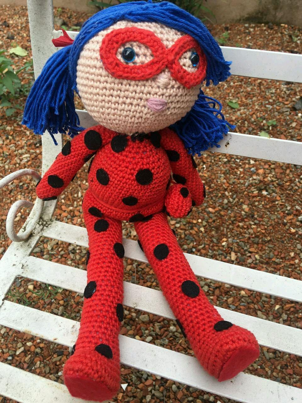 Amigurumi Pattern - Dotty the Ladybug - English Version (mit ... | 1280x960