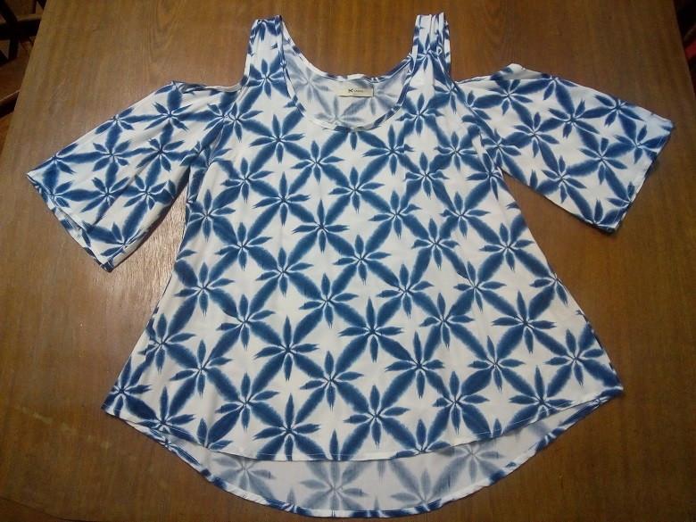 74b1d9fde8 blusa estampada em viscose no Elo7