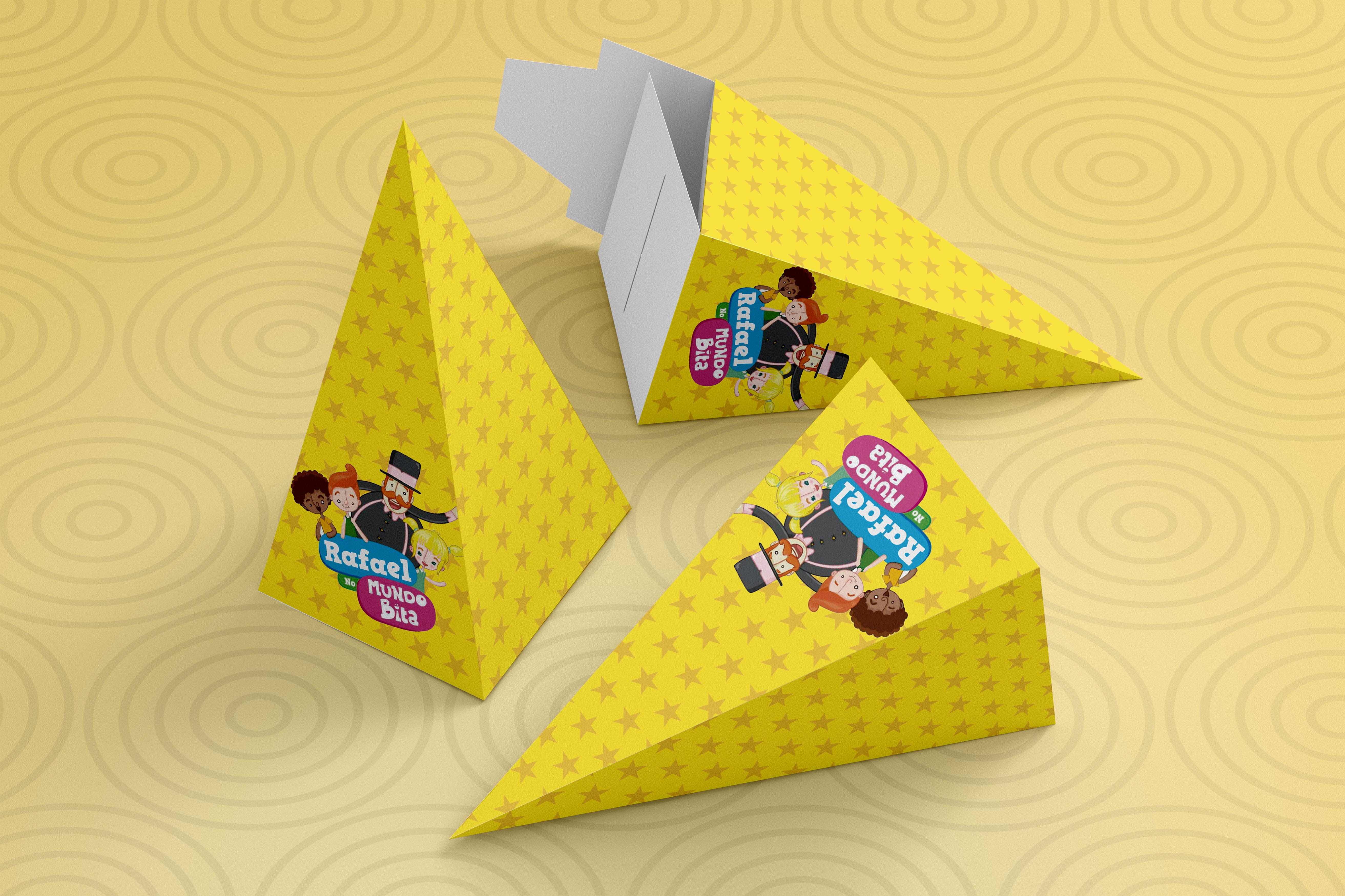Caixa Cone Mundo Bita Para Imprimir E Montar Em Casa No Elo7