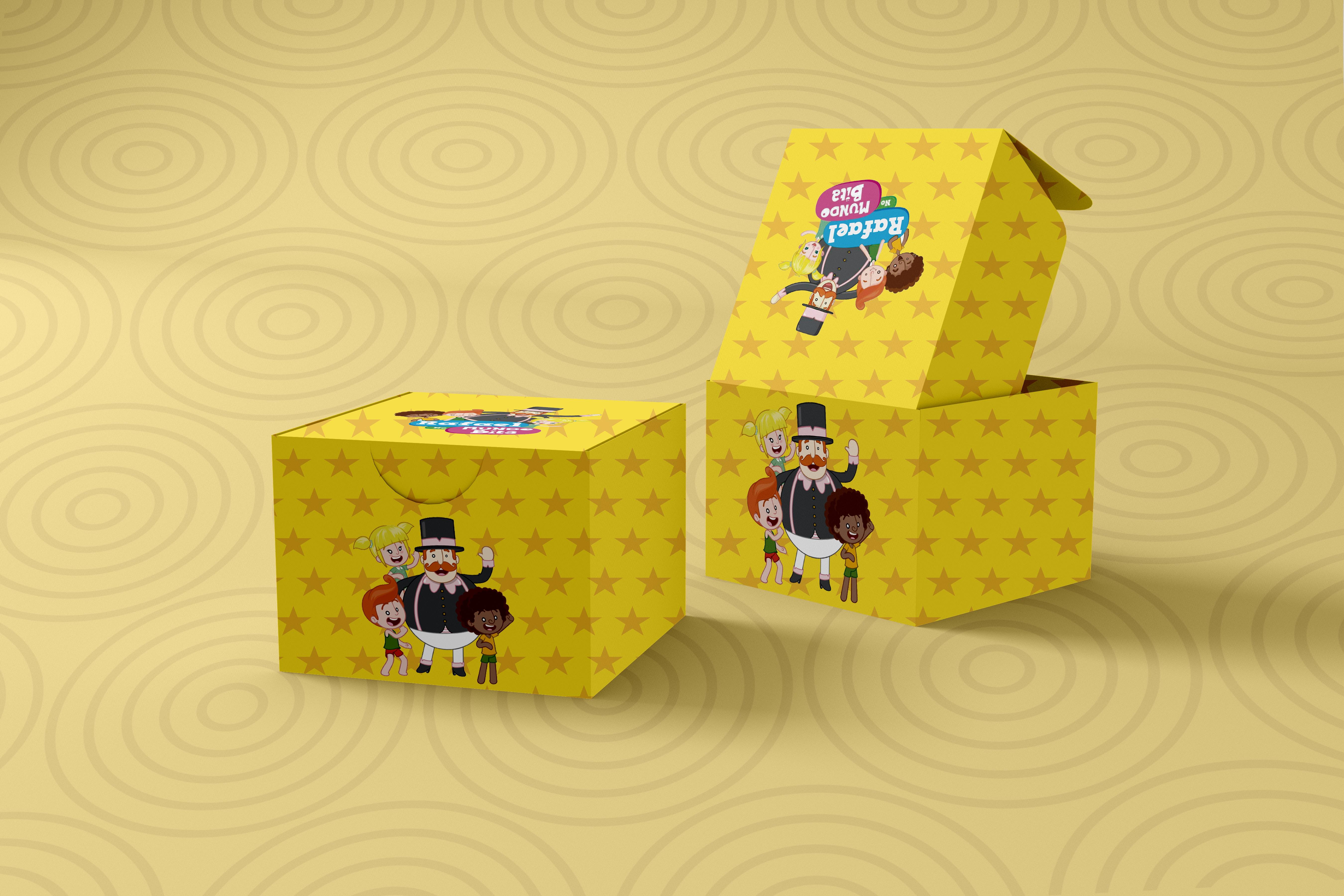 Caixa Surpresa Mundo Bita Para Imprimir E Montar Em Casa No Elo7