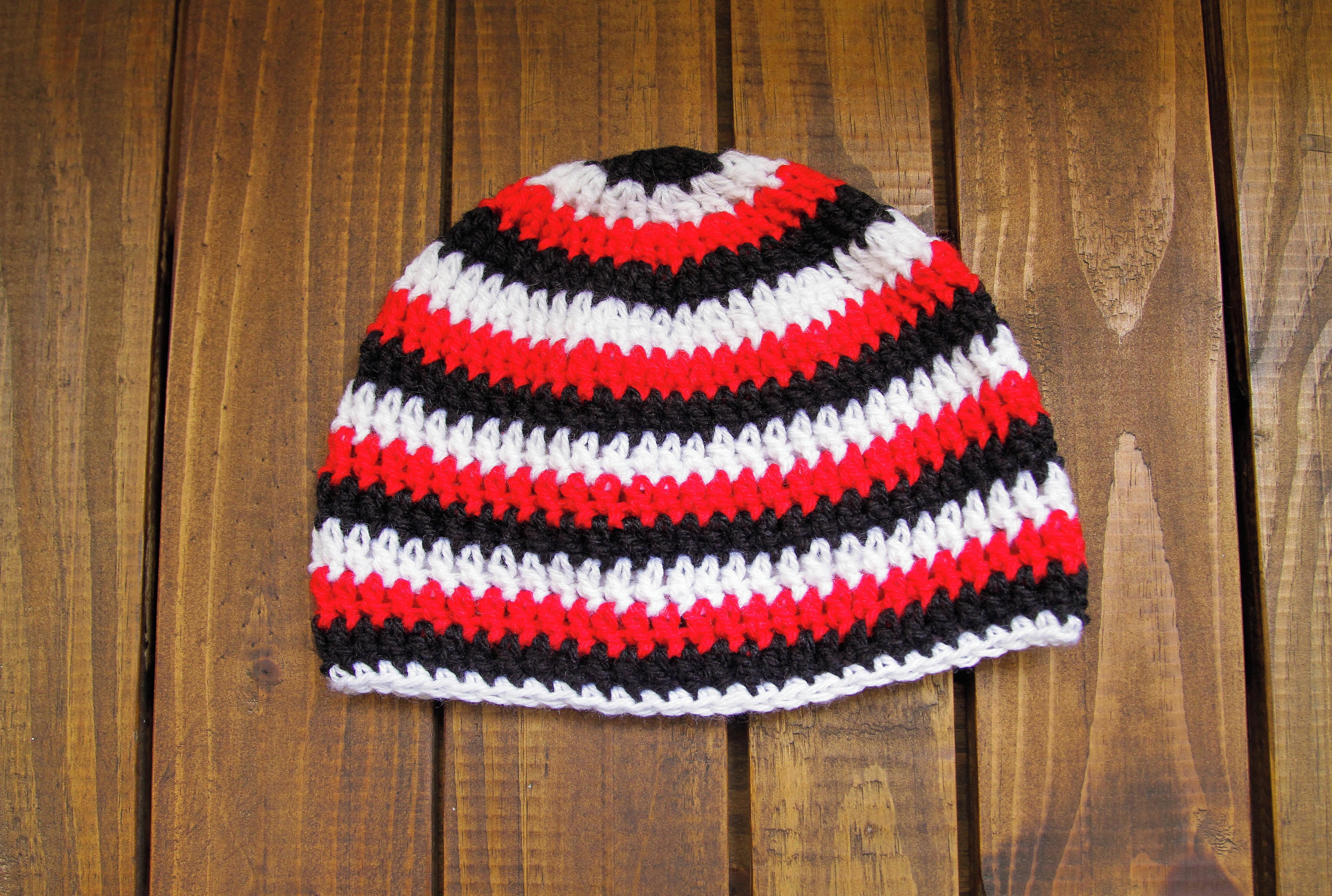 Painel Listrado Vermelho e Branco  e8213652c3a