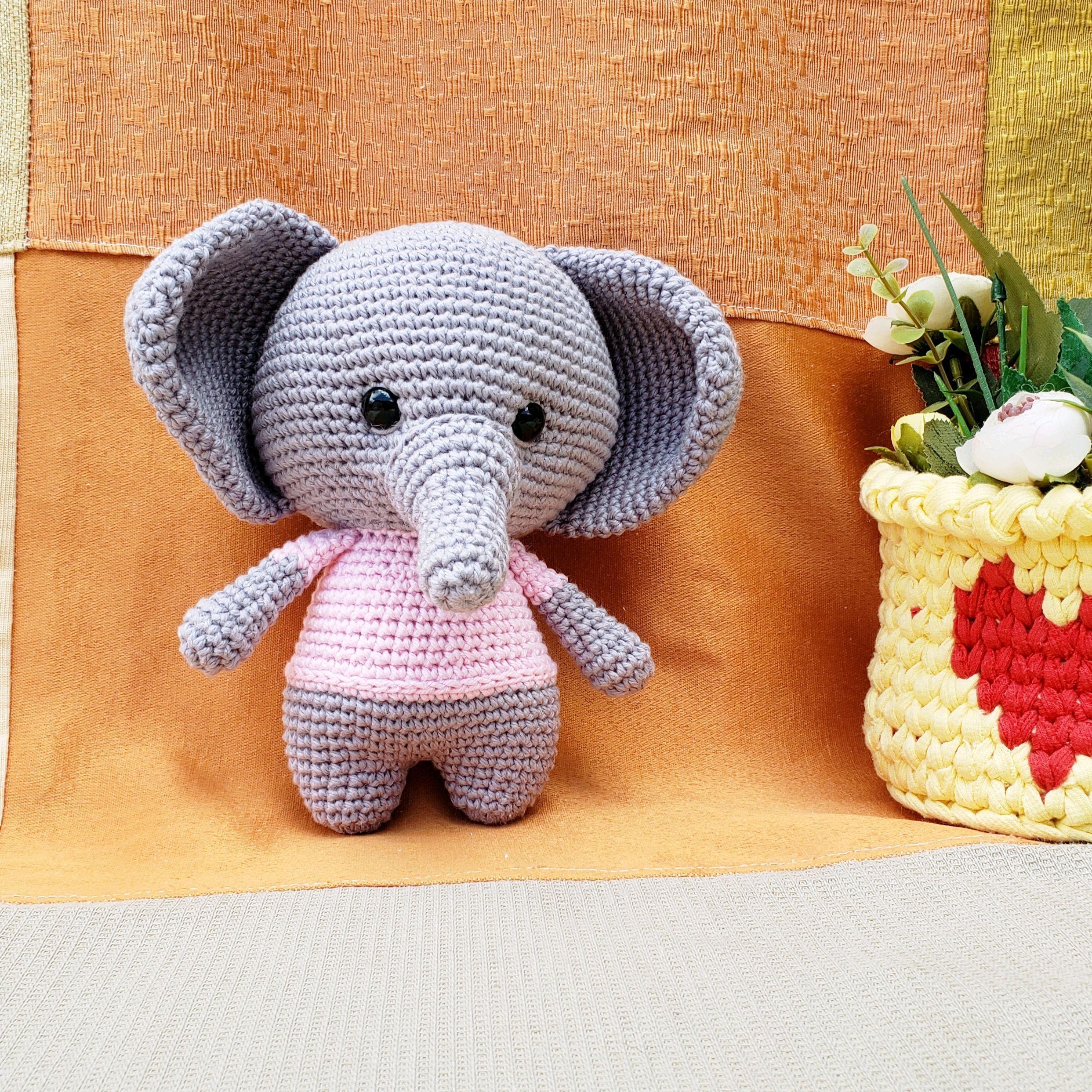 PATRON GRATIS ELEFANTES AMIGURUMI 13664   Elefantes amigurumi ...   2485x2485