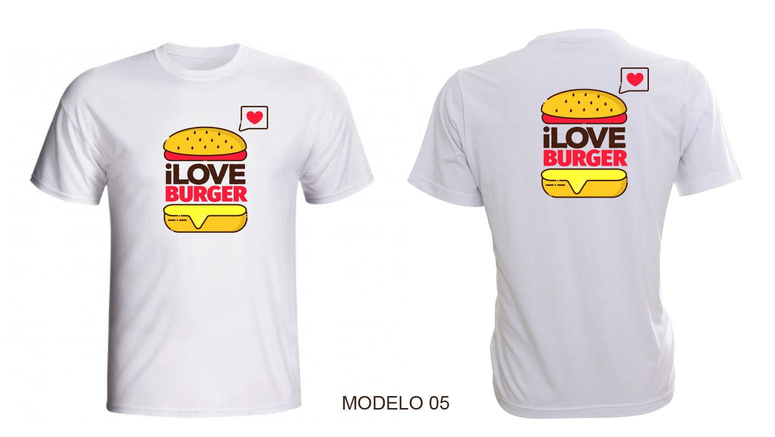 4c182aa730 Camiseta para Lanchonete Personalizada Uniforme com Nome