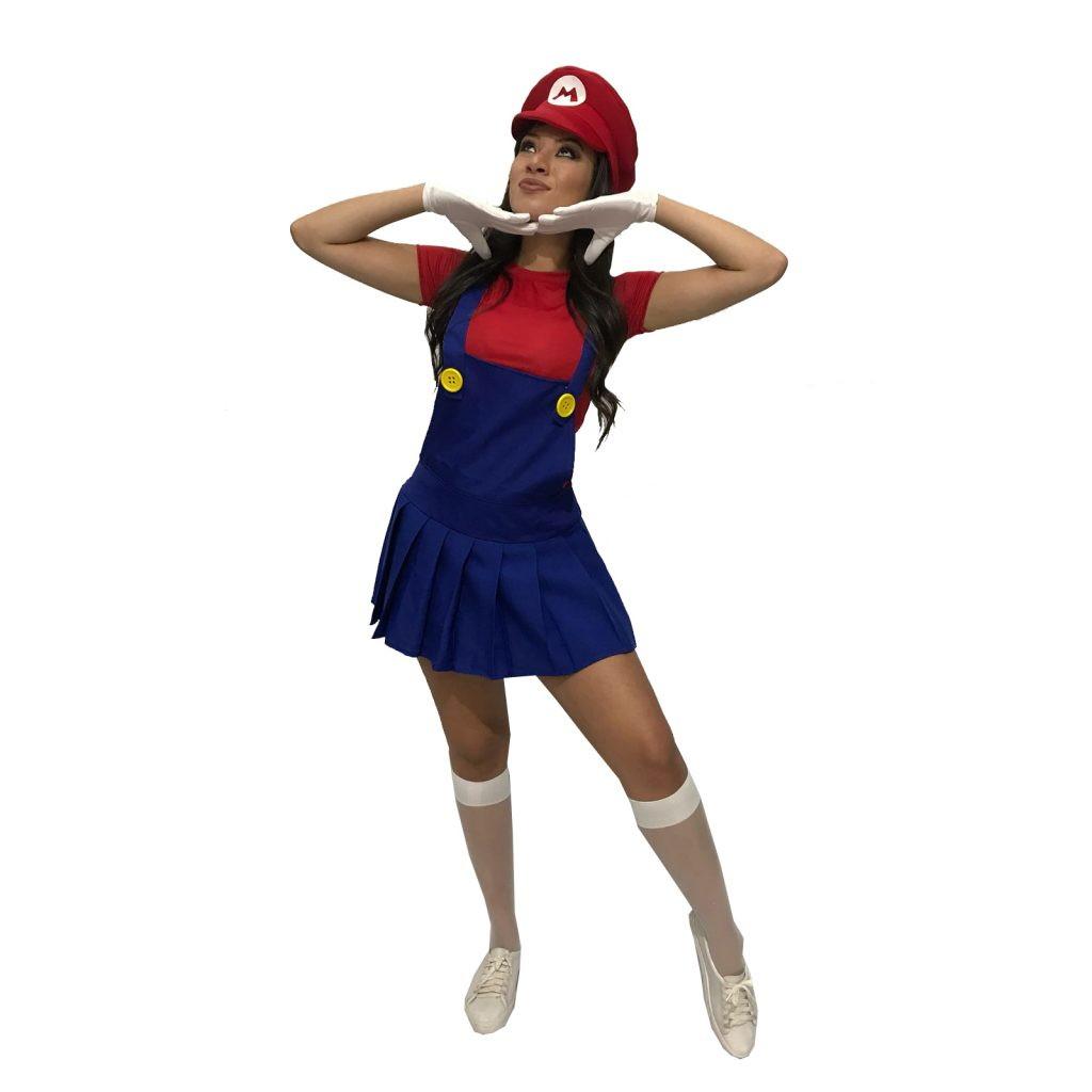 Fantasia Super Mário Feminina Adulto Game Cosplay Carnaval no Elo7 ... aaf3791aefc