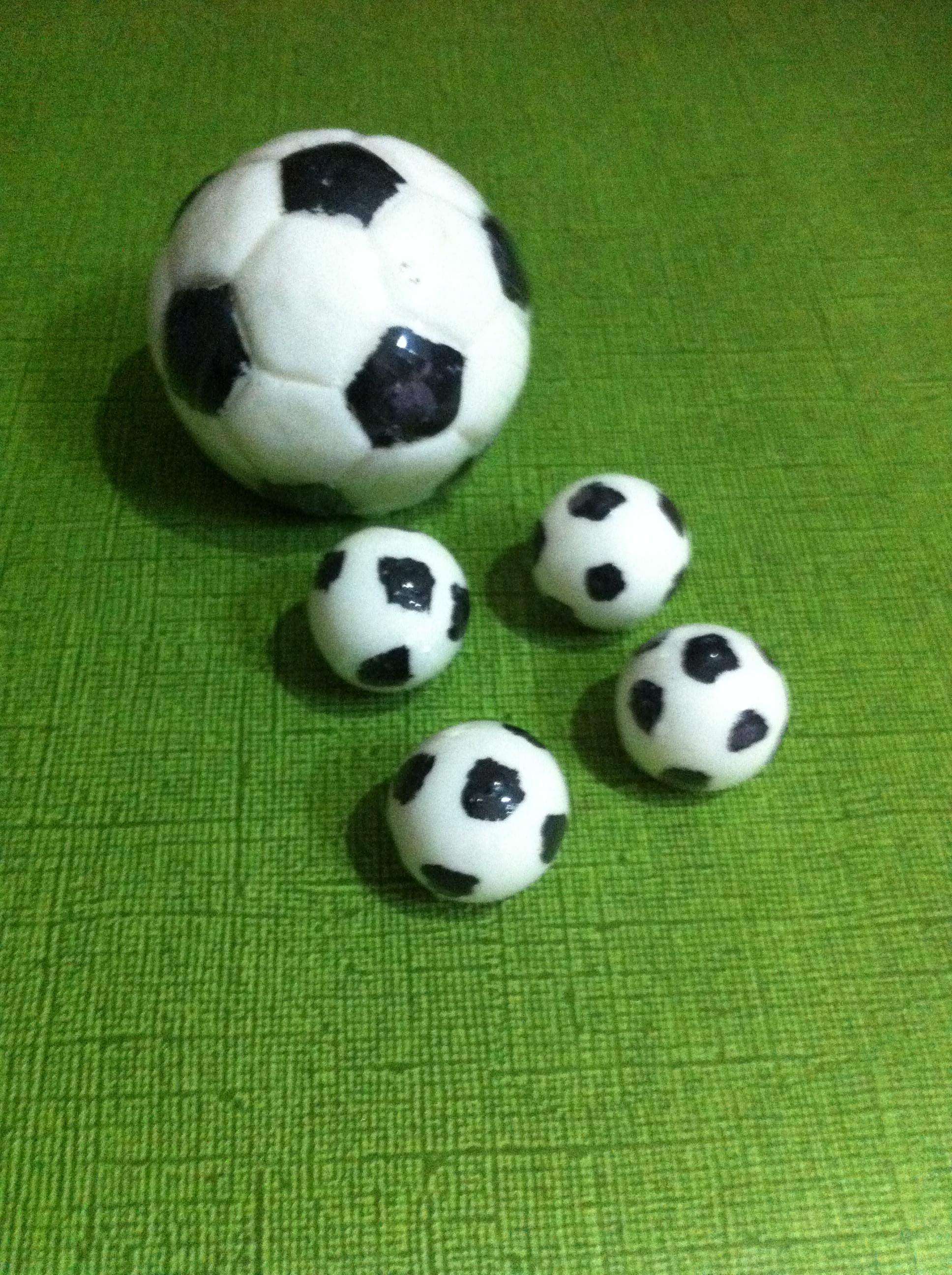 Sabonete Mini Bola de Futebol no Elo7  0ce8f5c4f7c5c
