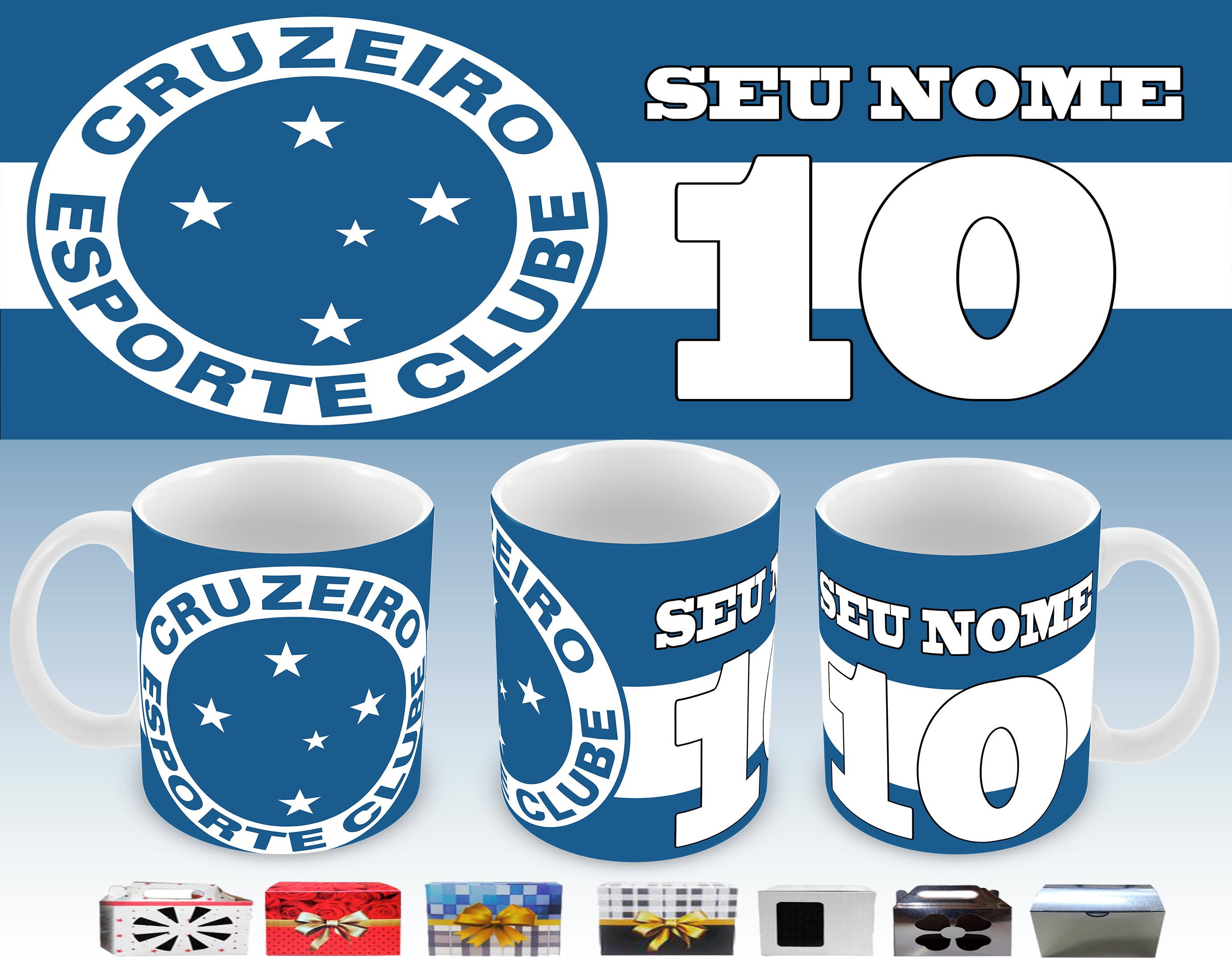 Caneca Cruzeiro FC no Elo7  9b012a73f4352