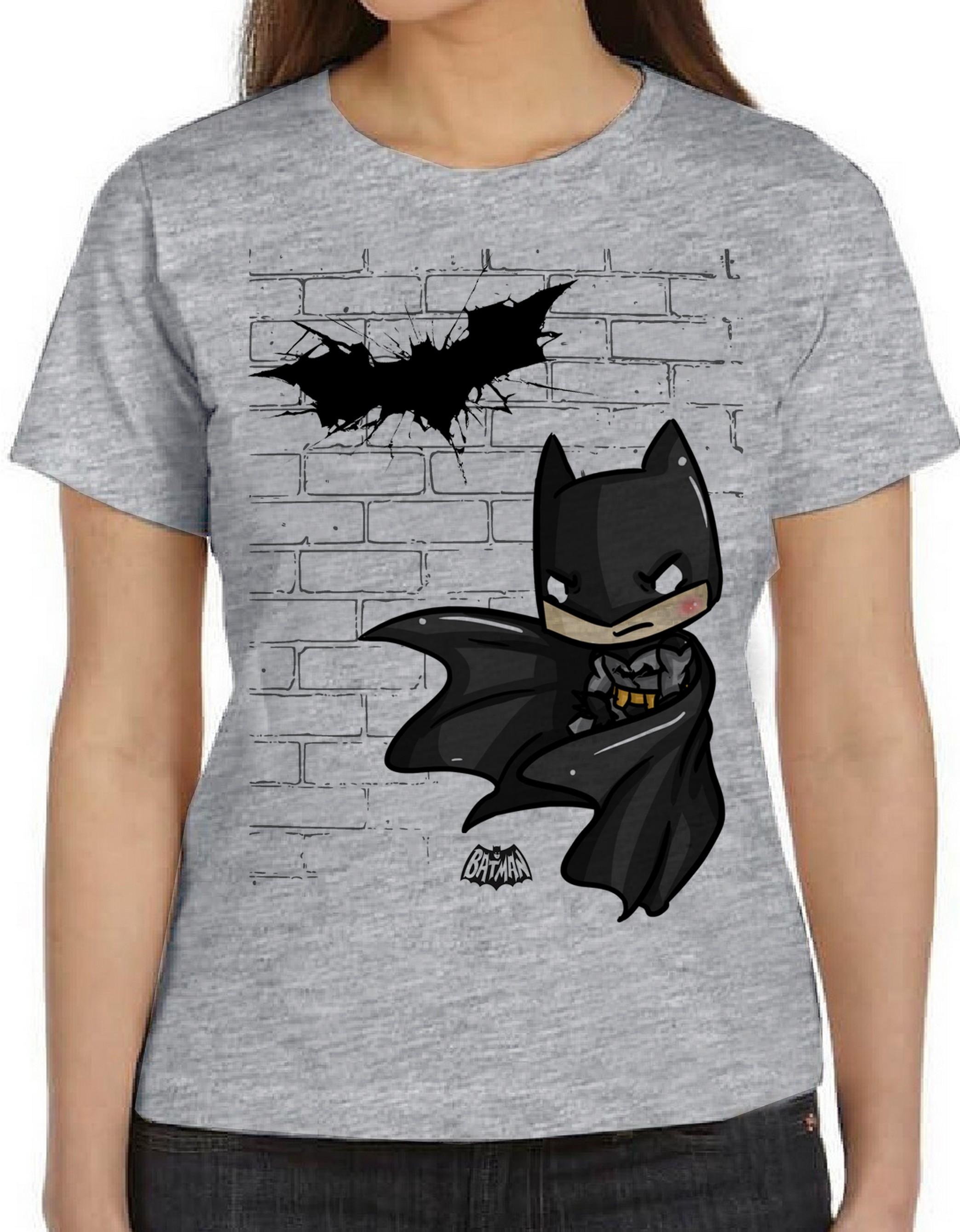 47d43b3259 blusa feminina baby look Batman pequeno muro herói no Elo7 ...