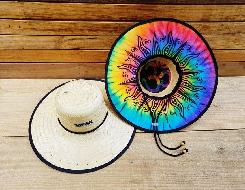 Chapéu de palha Floral Chita no Elo7  7da29f3abdb