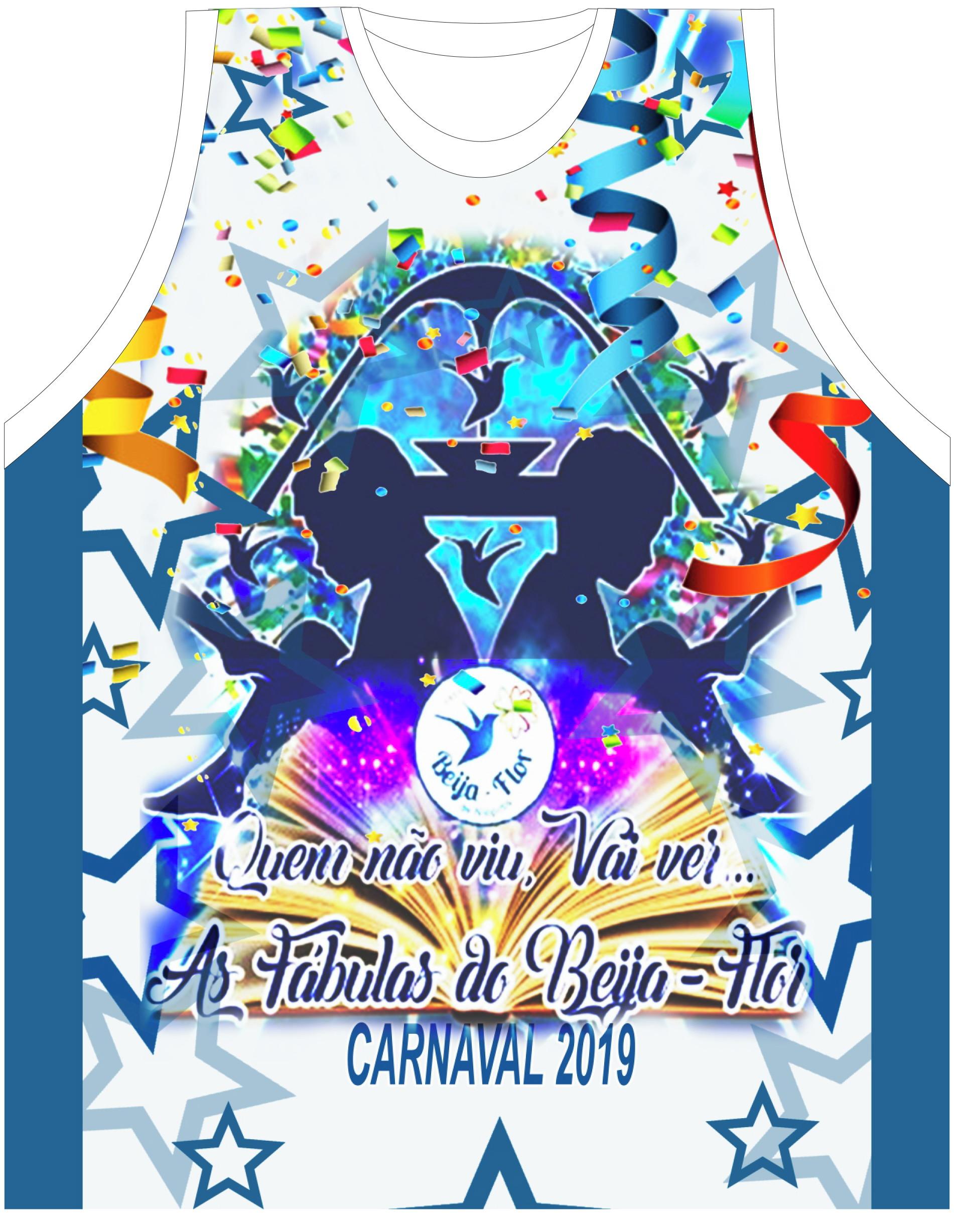Camisa Escola de Samba Beija Flor 2019  b8309e395cf