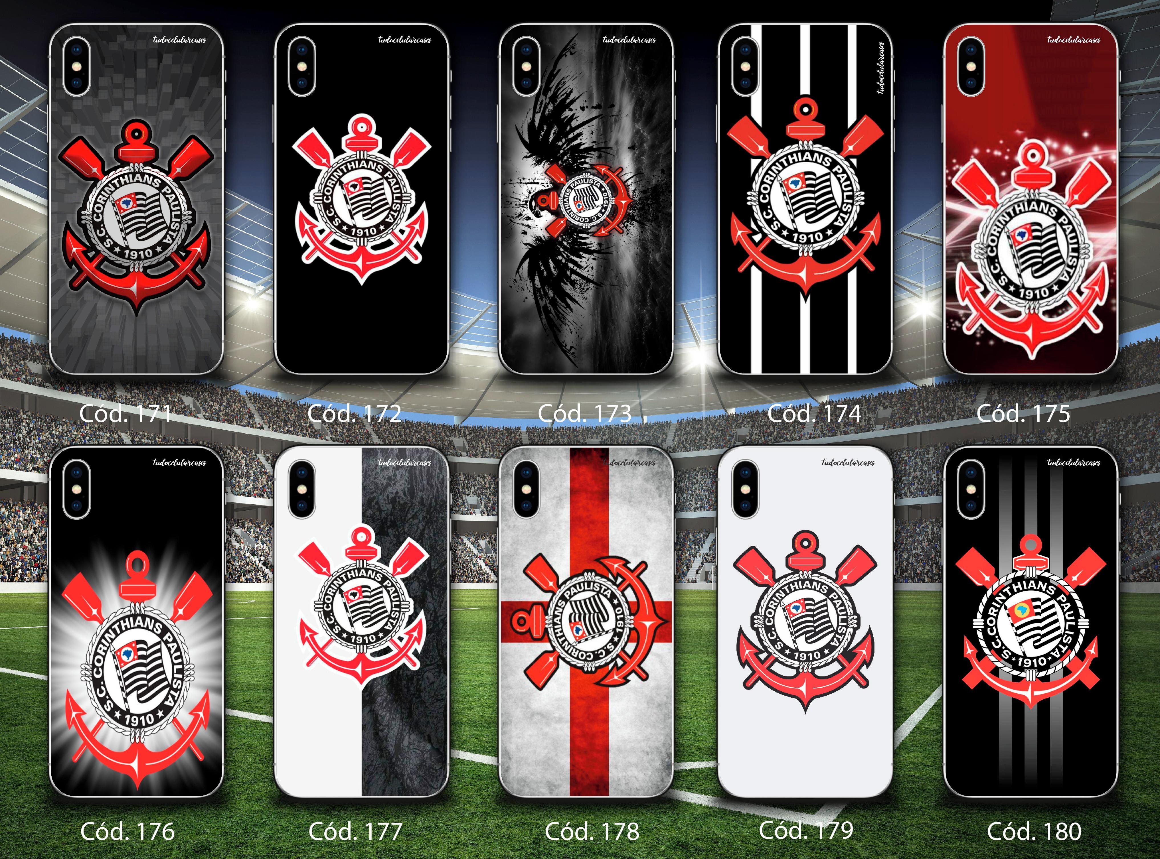 00119d71b3f54 Capinha Capa Case Celular Personalizada Times Futebol 3 | Elo7