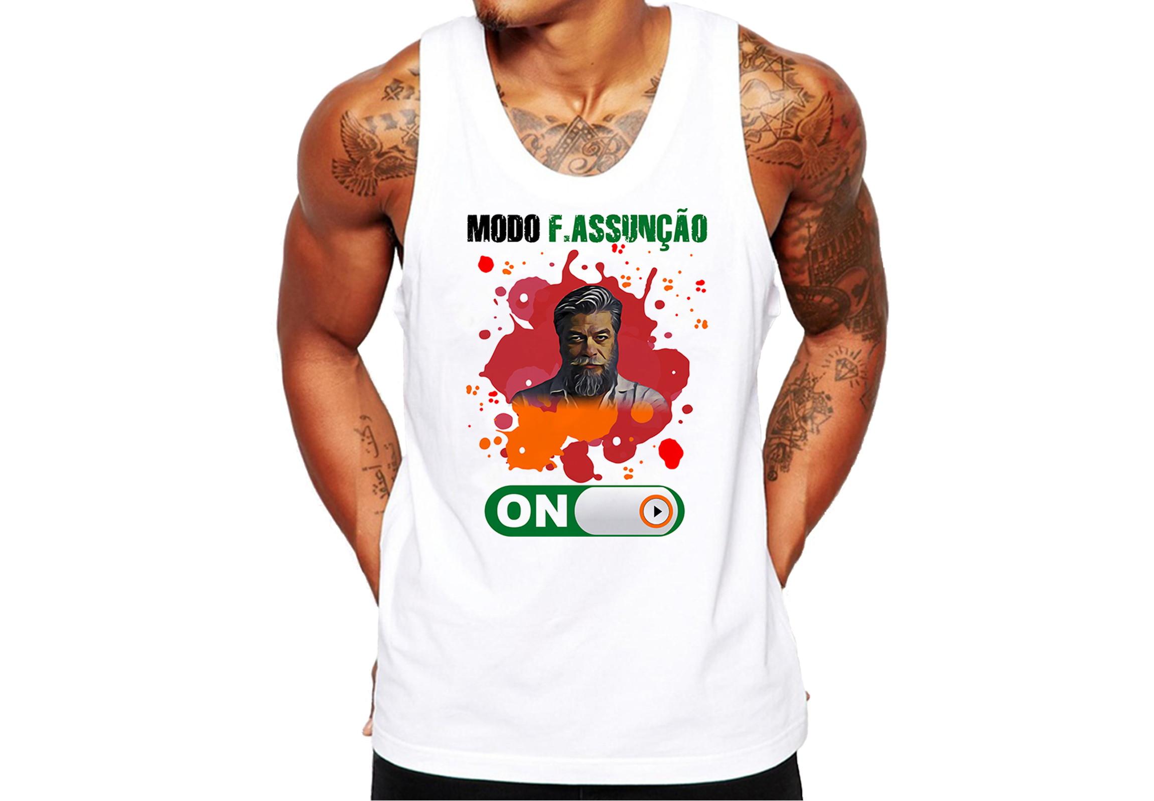 379e4fd37e069 Camiseta Modo Fabio Assuncao