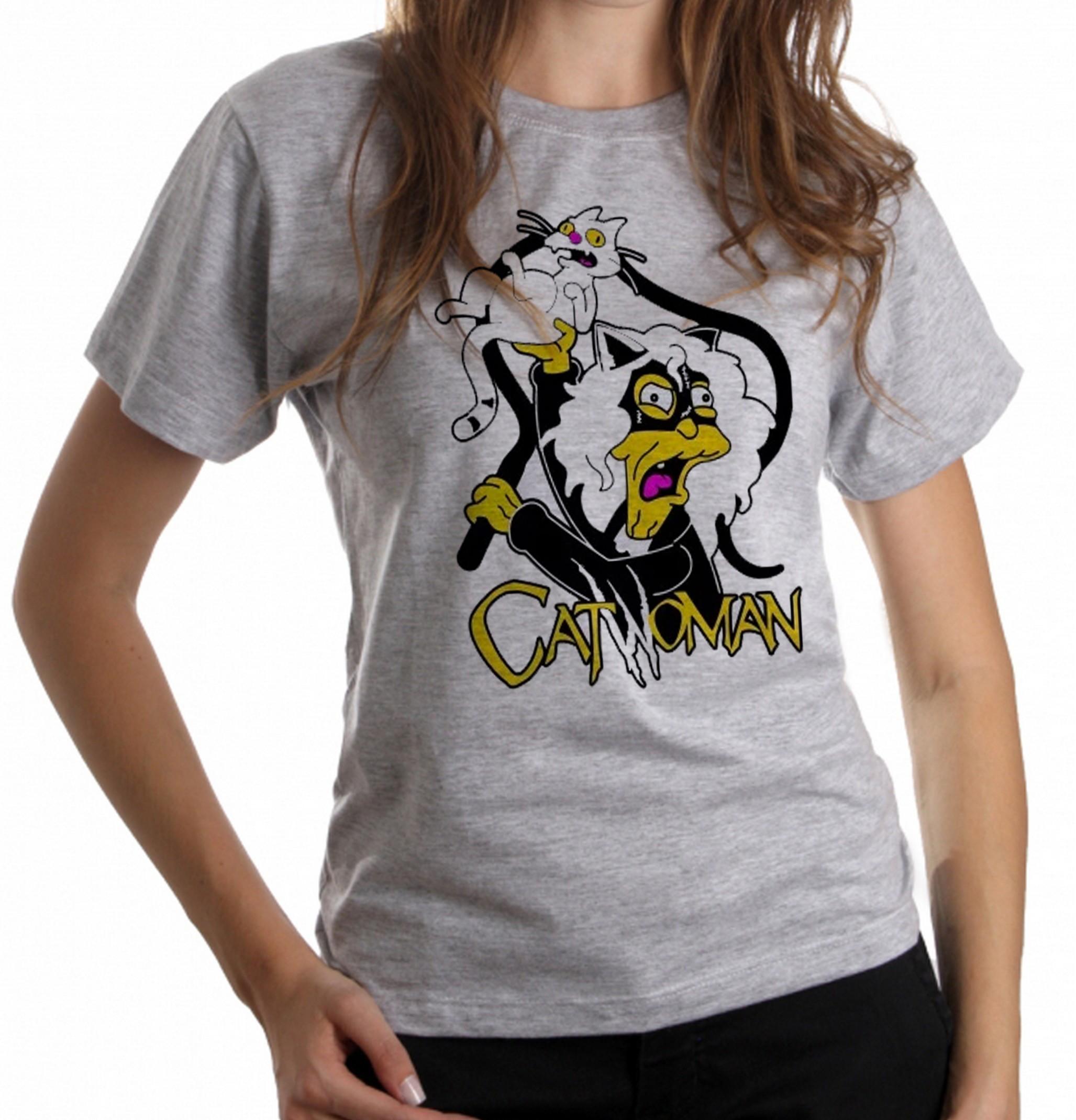 a7596fdae blusa feminina baby look simpsons catwoman veia gatos cat no Elo7 |  Camisetas Empório Dutra (E37D04)