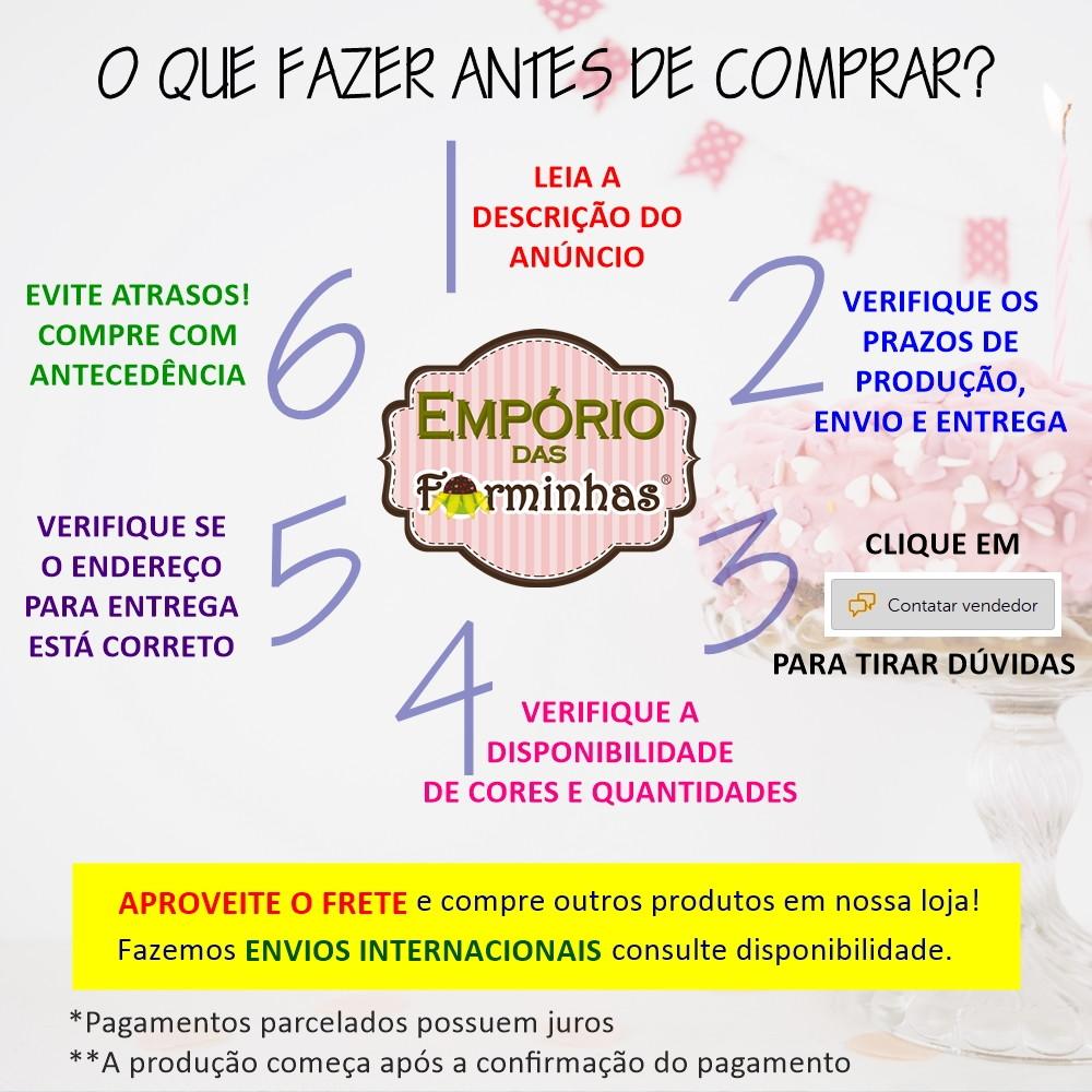 400 Unidades Forminha Porta Bem Casado Tela Embalagem Doces no Elo7 ... 204696b00b4