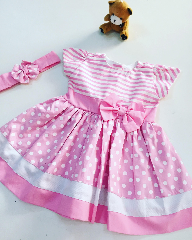 Vestido Borboletas 3 6 Meses  ba95513de71e