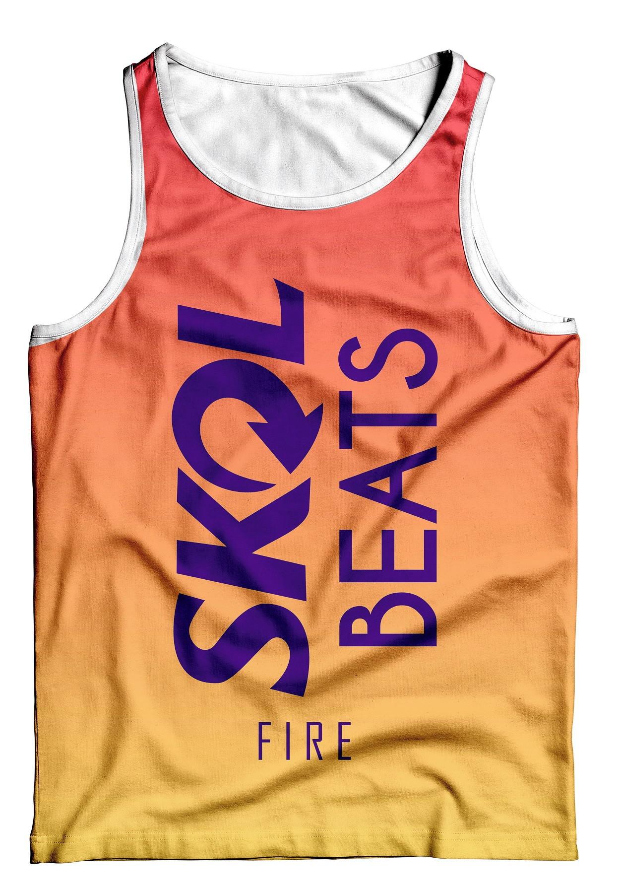 Vestido Skol Camiseta Skol Beats  36d5385b53e
