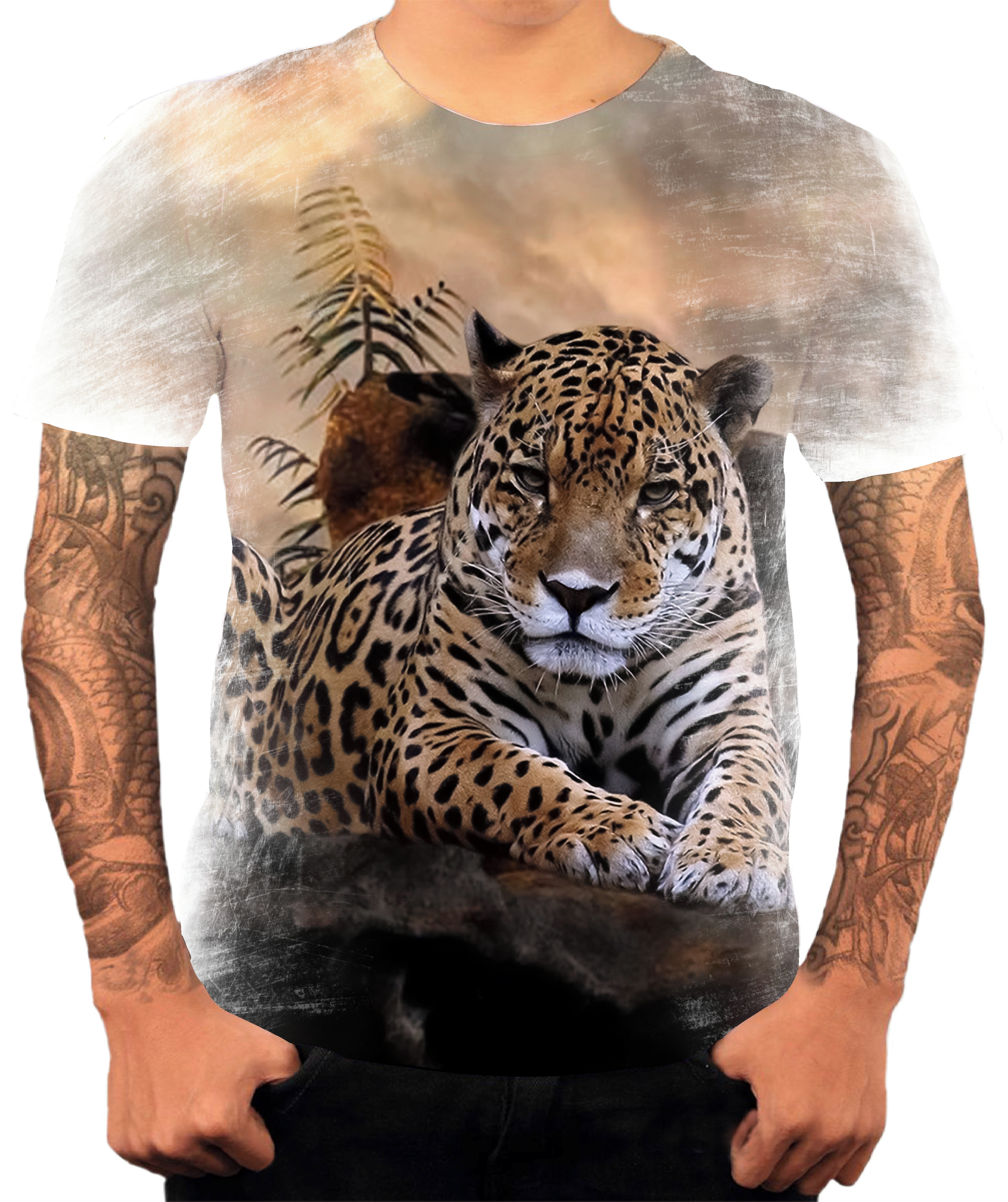 Camisa Camiseta Personaliza Animal Onca Pintada 02 No Elo7