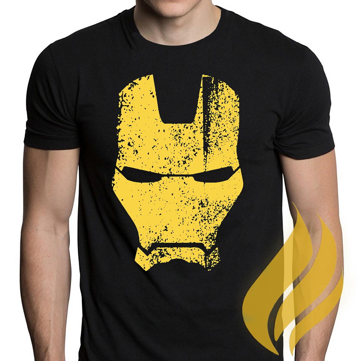 a152c05463 Camiseta Personalizada Homem de Ferro Tony Stark | Elo7